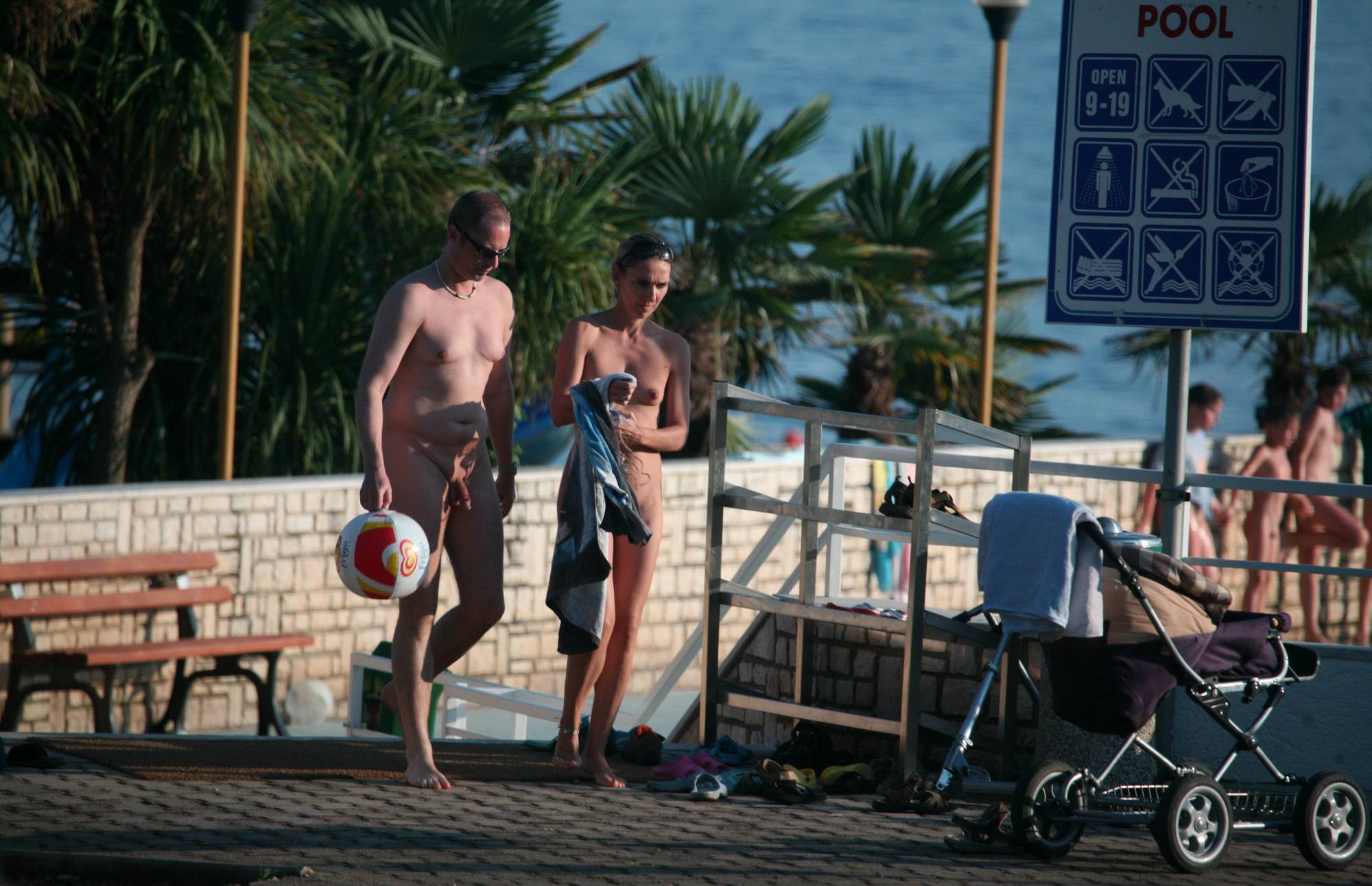 Pure Nudism Gallery Adult Couple Heading Out - 4