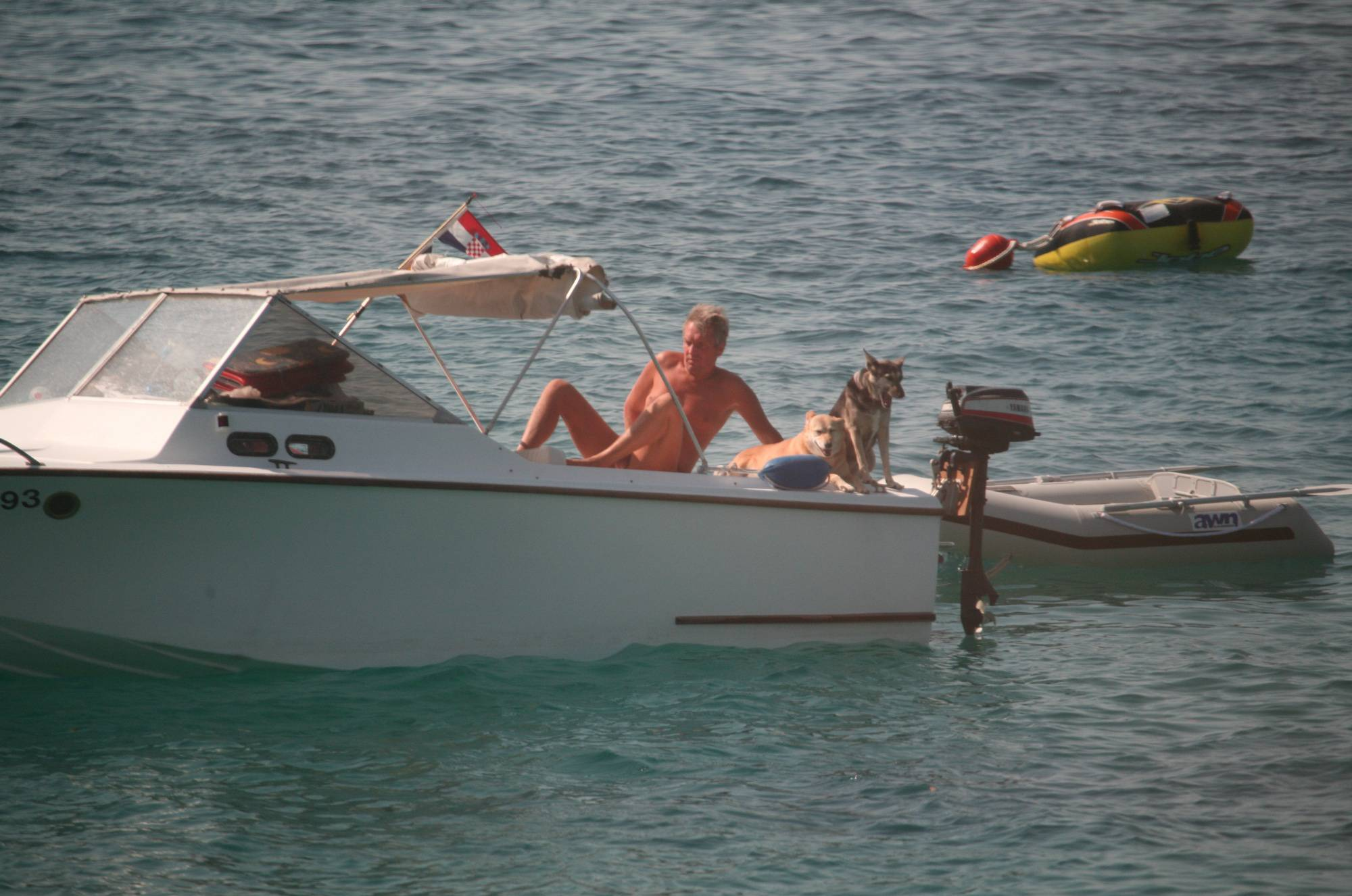 Pure Nudism Images Bares FKK Water Boating - 1