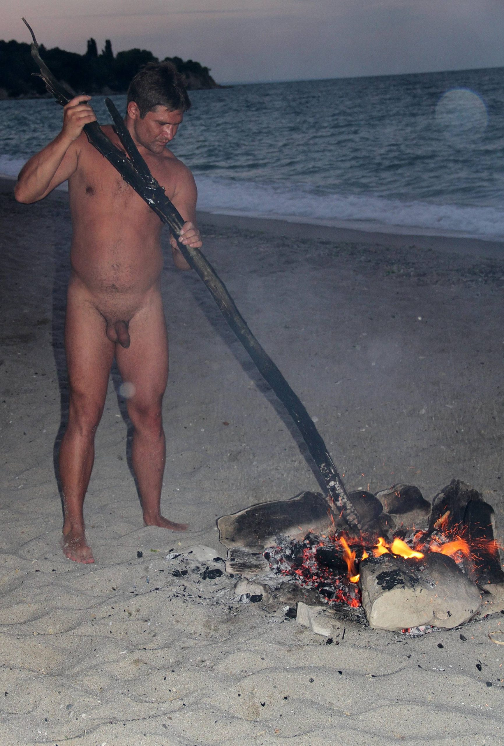 Beach Bonfire Festivity - 1