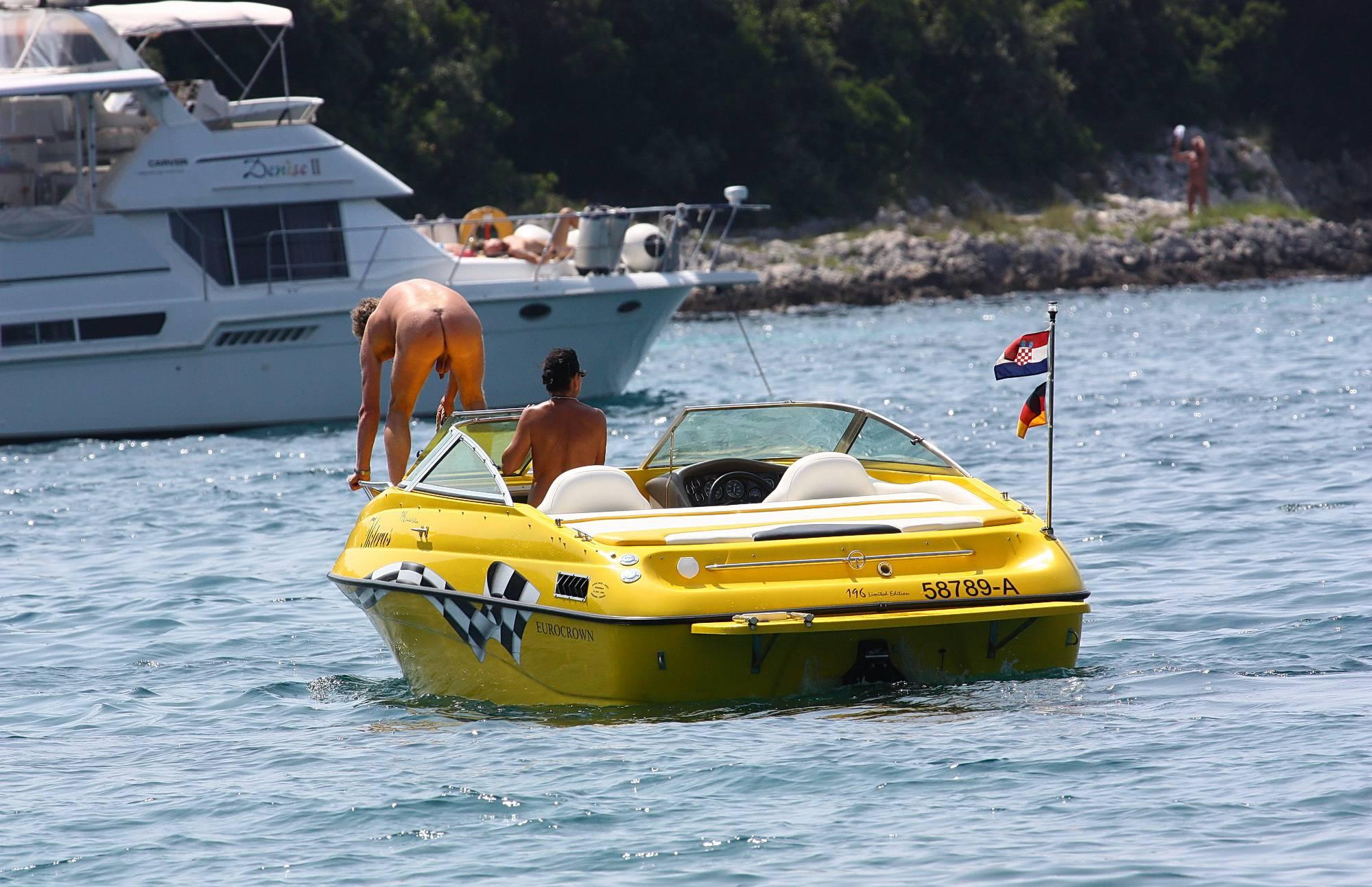 Pure Nudism Beautiful Boating Trip - 1