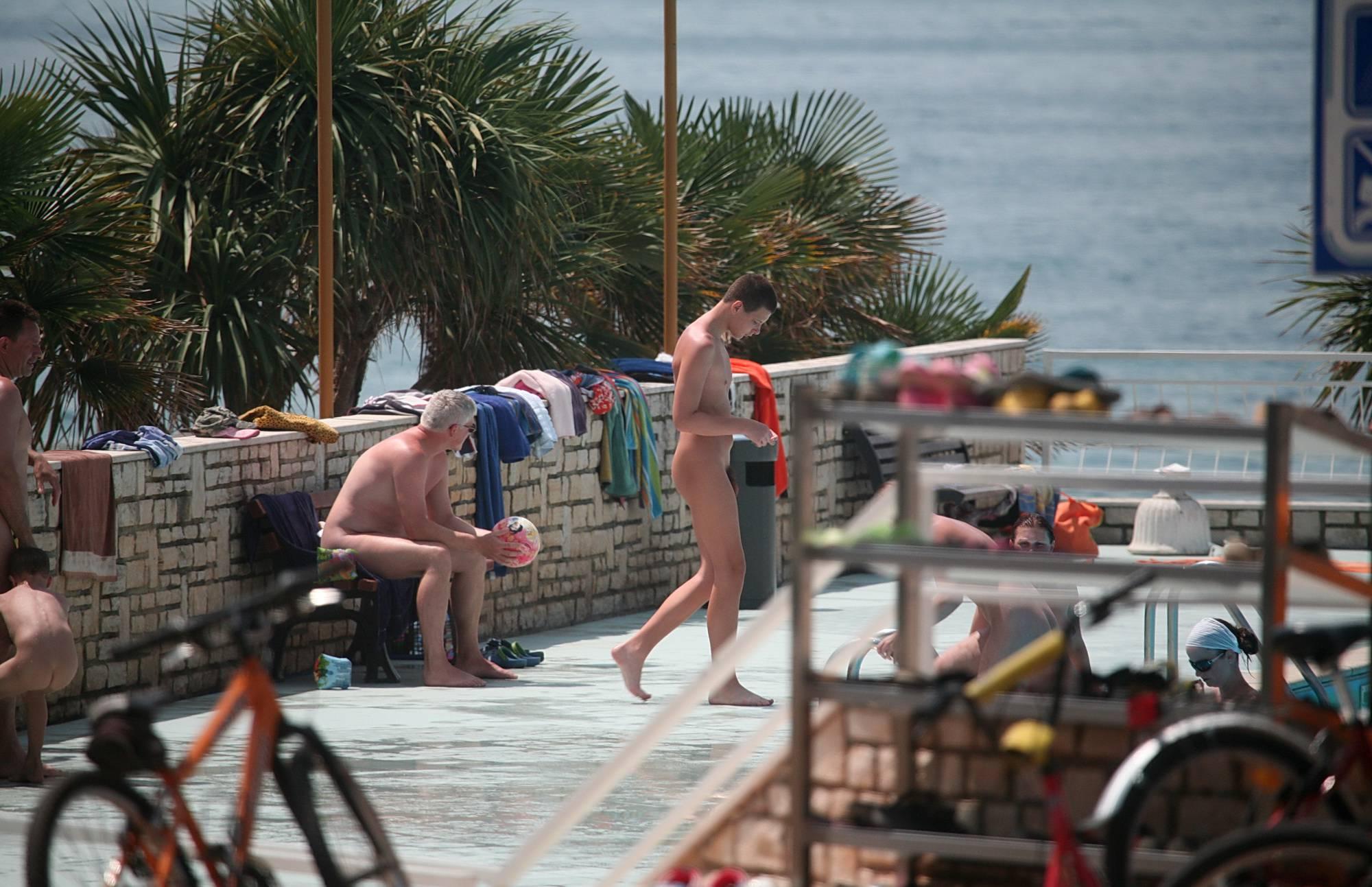 Pure Nudism Pics-Biking On The Boardwalk - 3