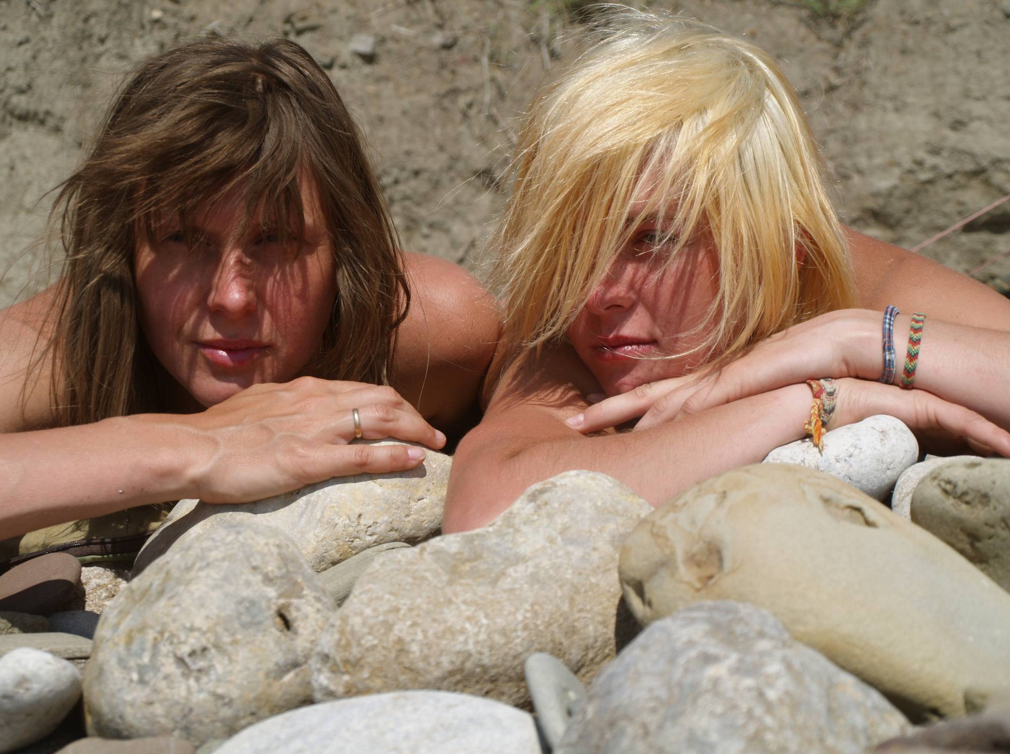 Purenudism Pics-Blonde Beach Rock Beauty - 1