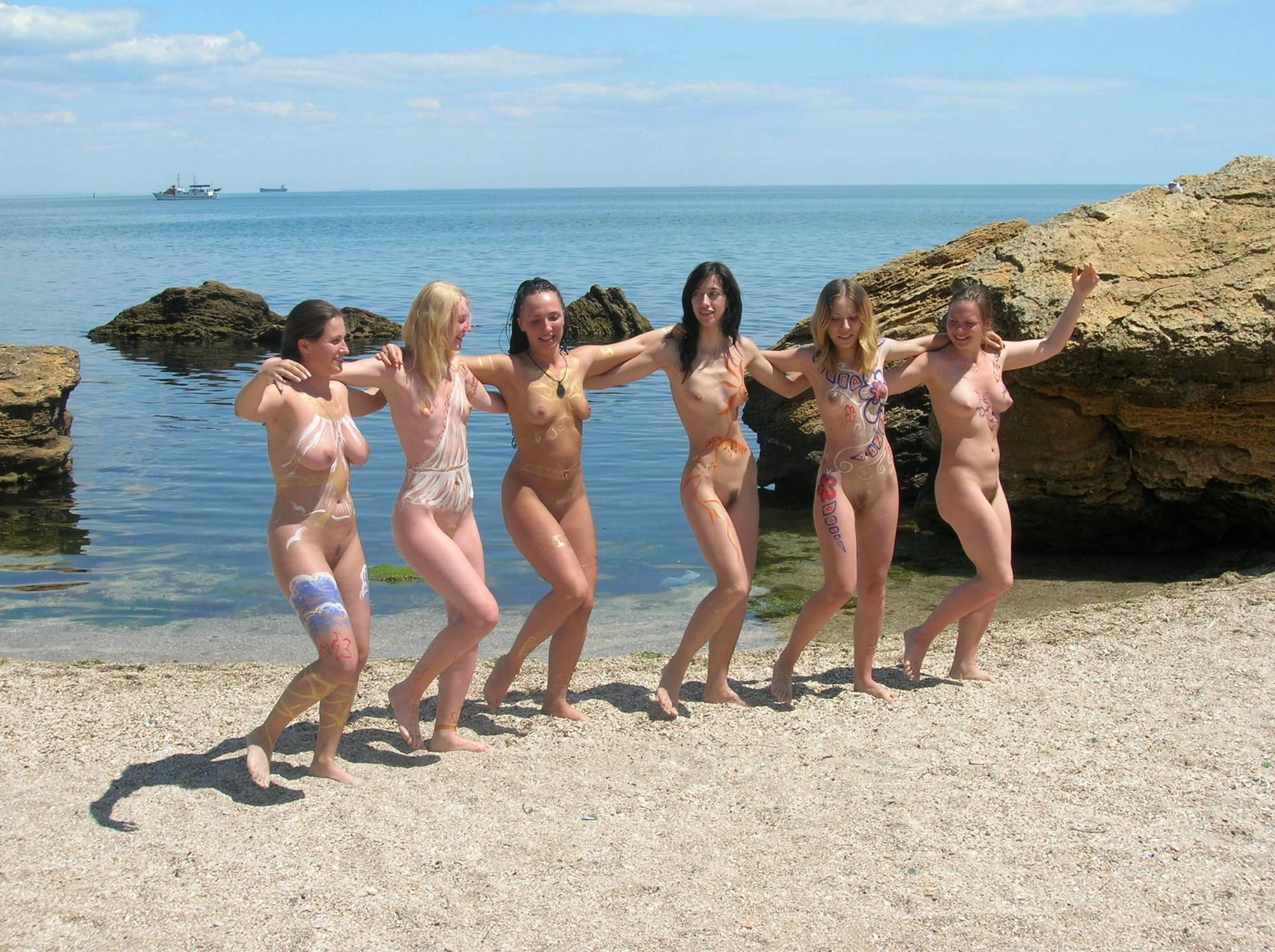 Pure Nudism-Blue Sky Beachfont Group - 2