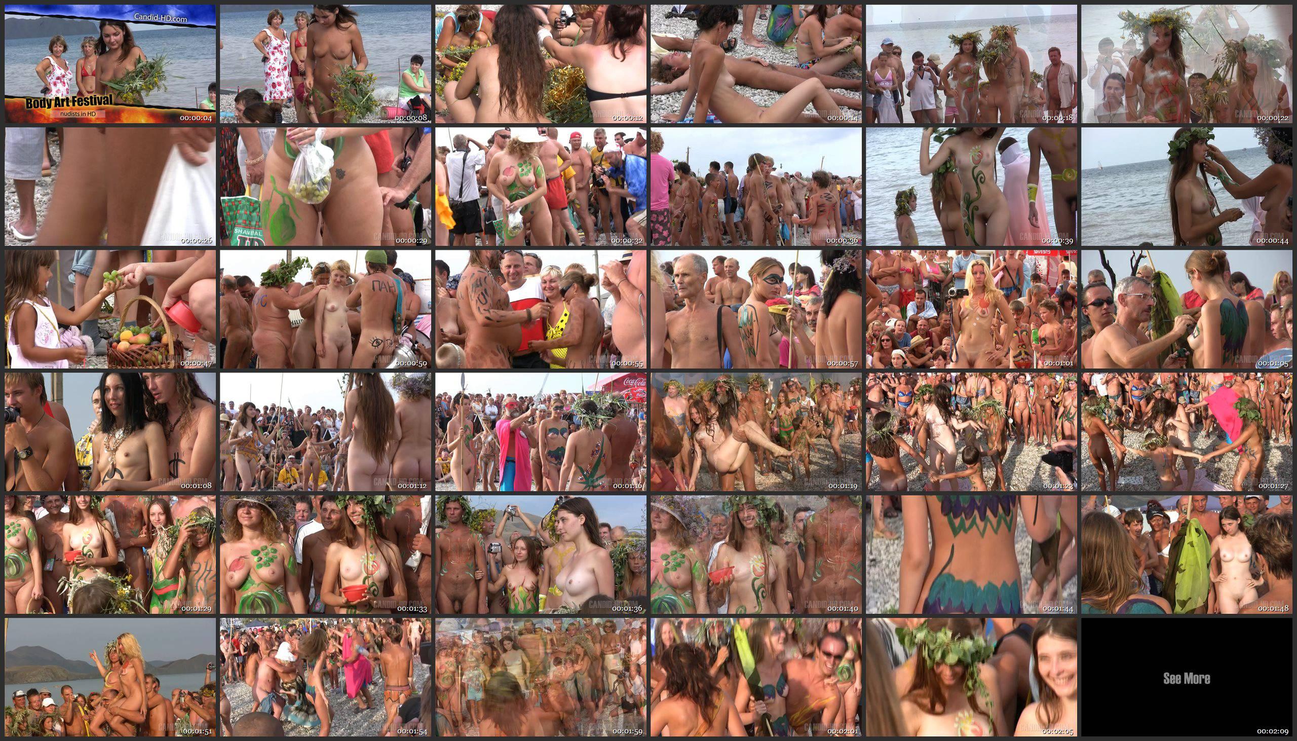 Body Art Festival - Thumbnails