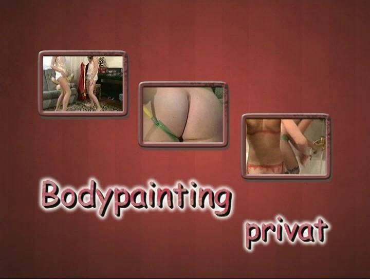 Naturistin-Bodypainting Privat - Poster