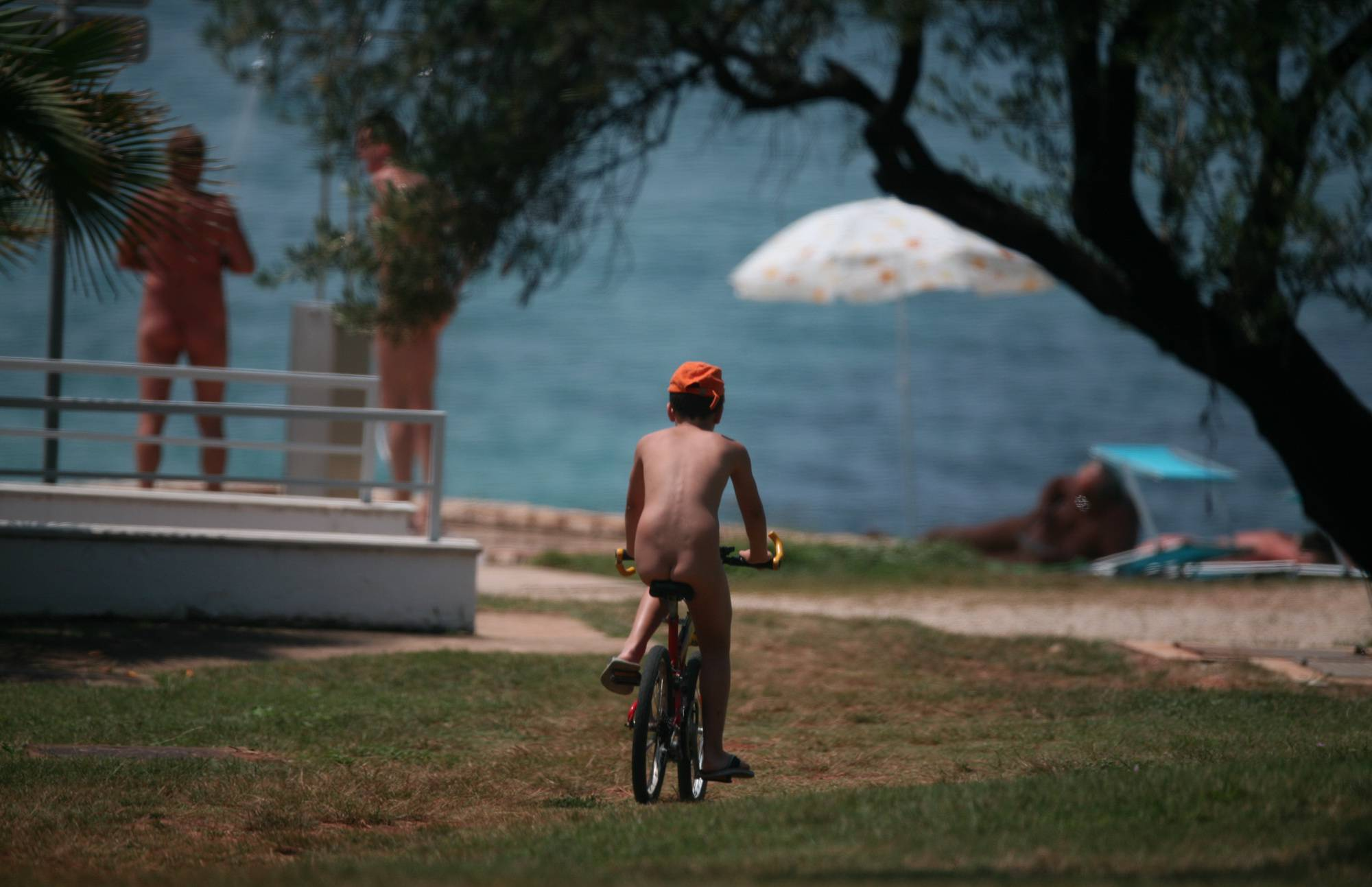 Purenudism-Boy Naturist Day Bikers - 3