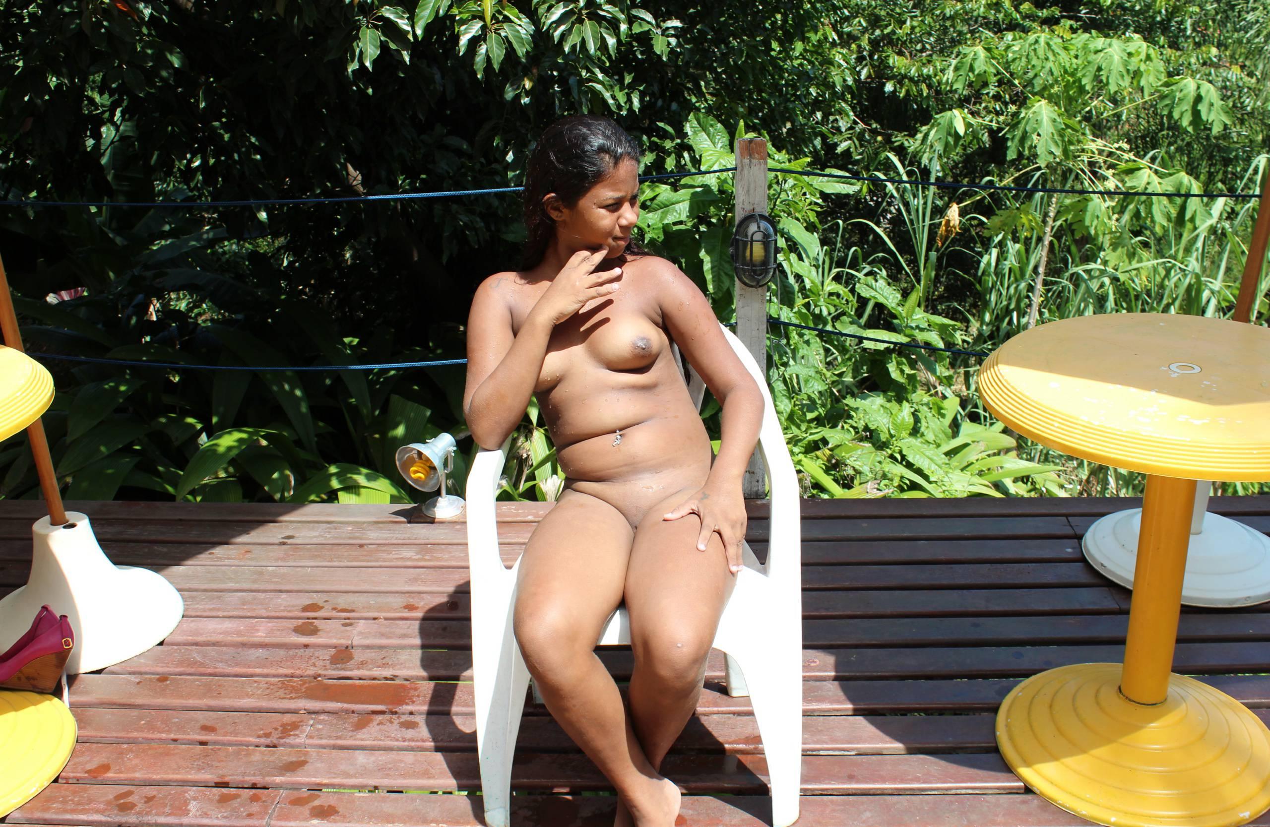 Purenudism Photos-Brazil Pool Sunbath - 3
