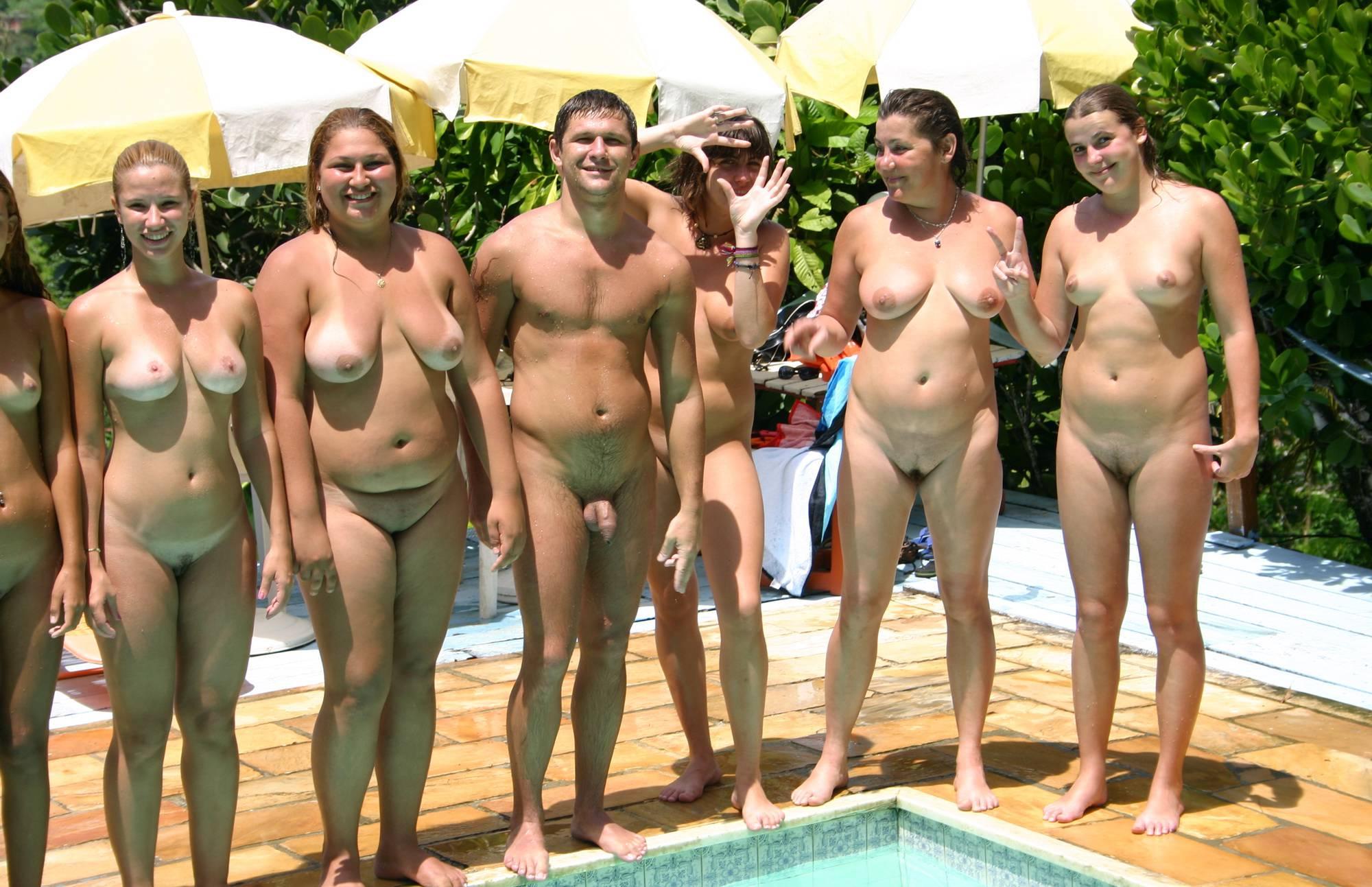 Purenudism Images-Brazilian Pool Line Up One - 1