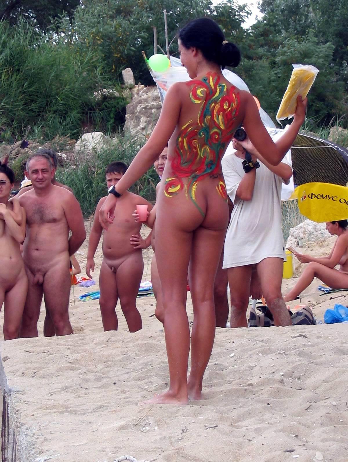 Purenudism Photos-Bulgarian Beach Activities - 1