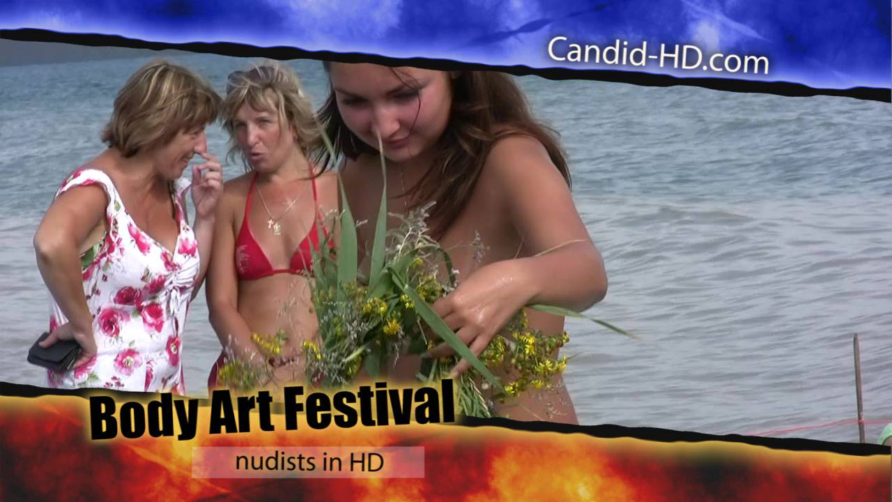 Candid-HD-Body Art Festival - Poster
