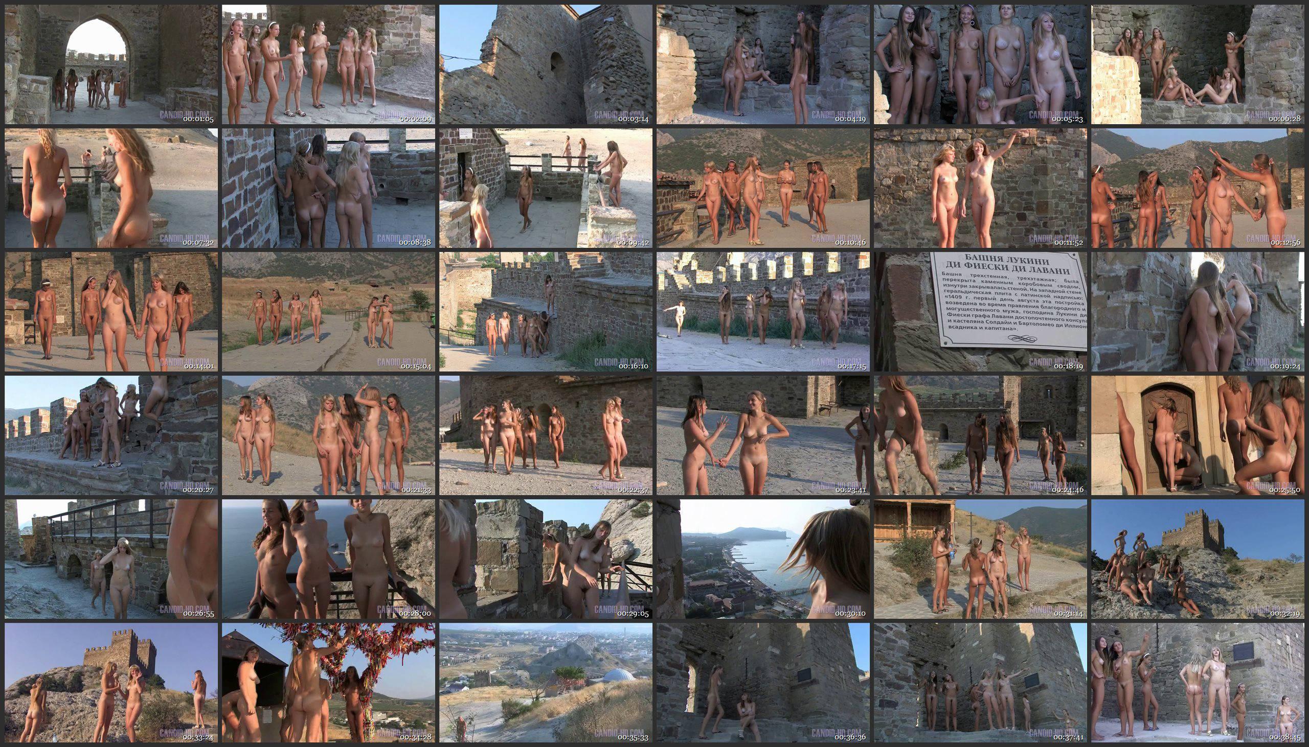 Ancient Castle Nudism - Thumbnails