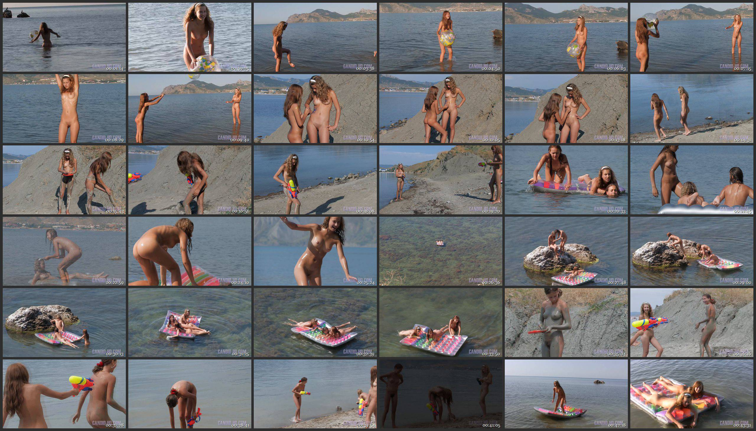 Candid-HD Videos Nudist Girlfriends on Holiday 1 - Thumbnails