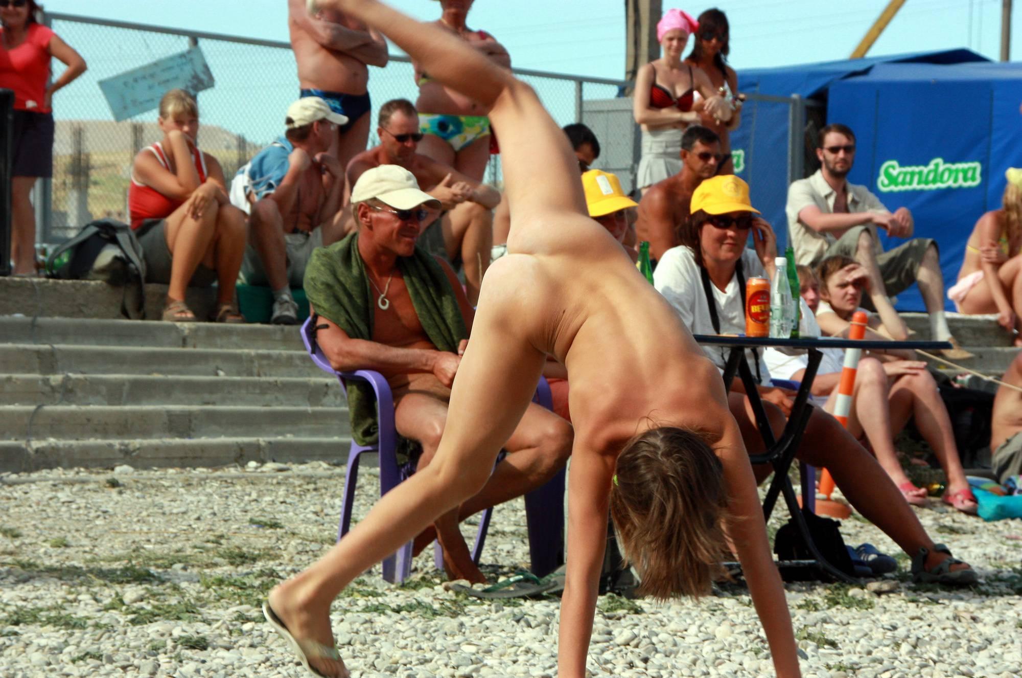 Cartwheel and Beach Dance - 3