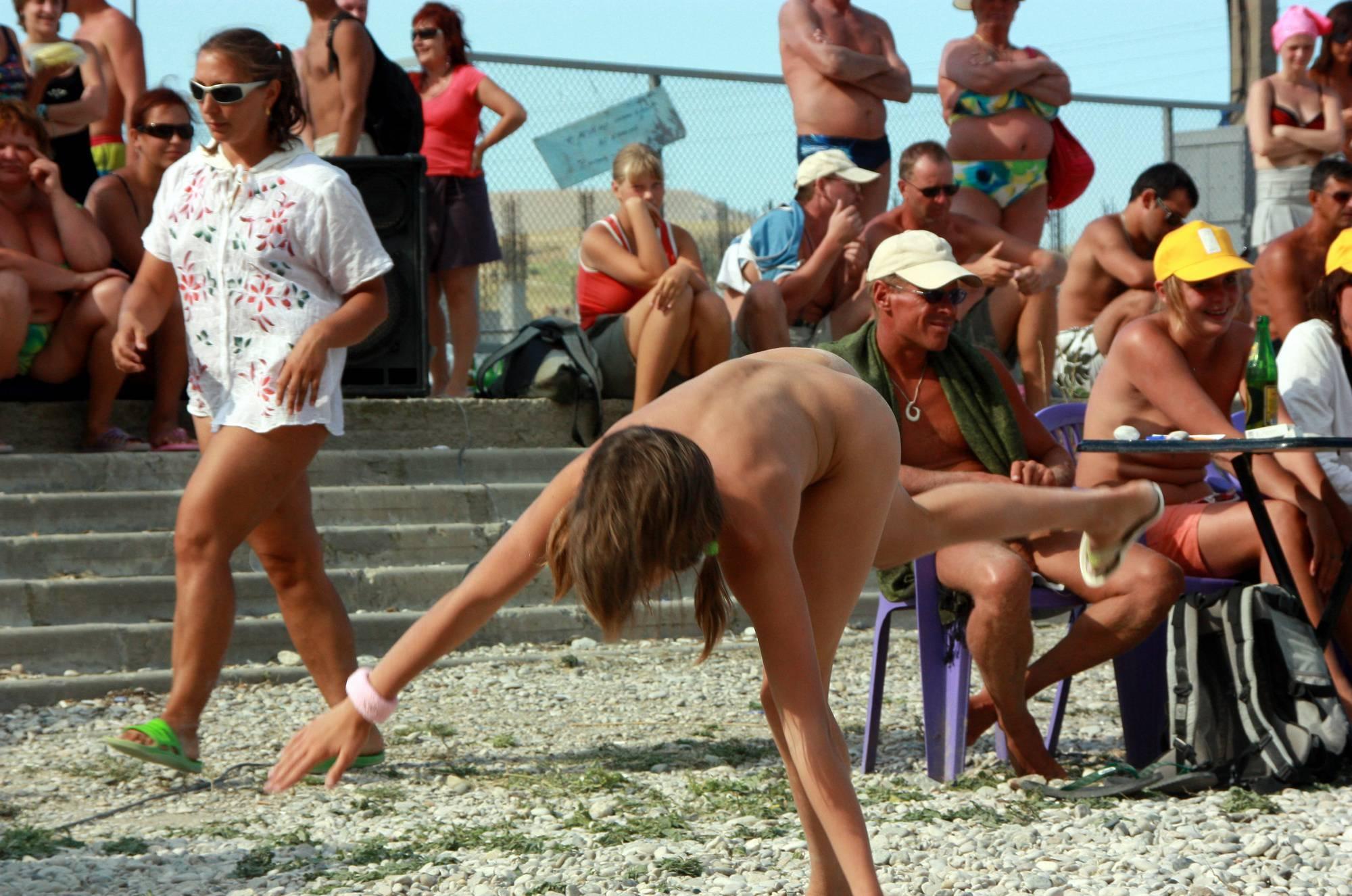 Cartwheel and Beach Dance - 1