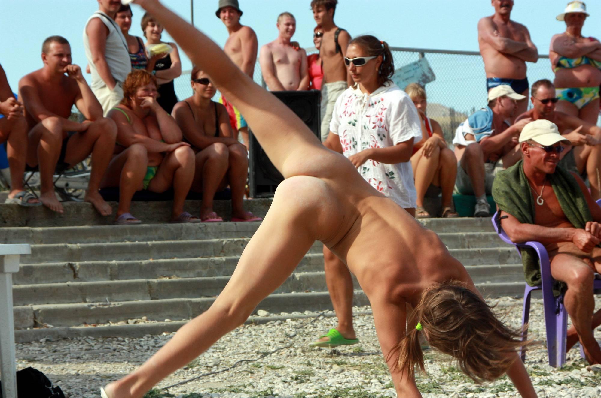 Cartwheel and Beach Dance - 4