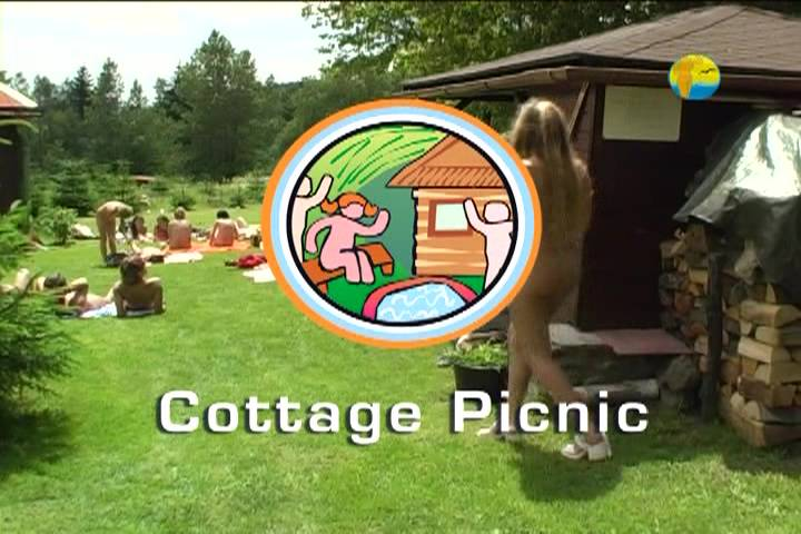 Naturist Freedom Videos-Cottage Picnic - Poster