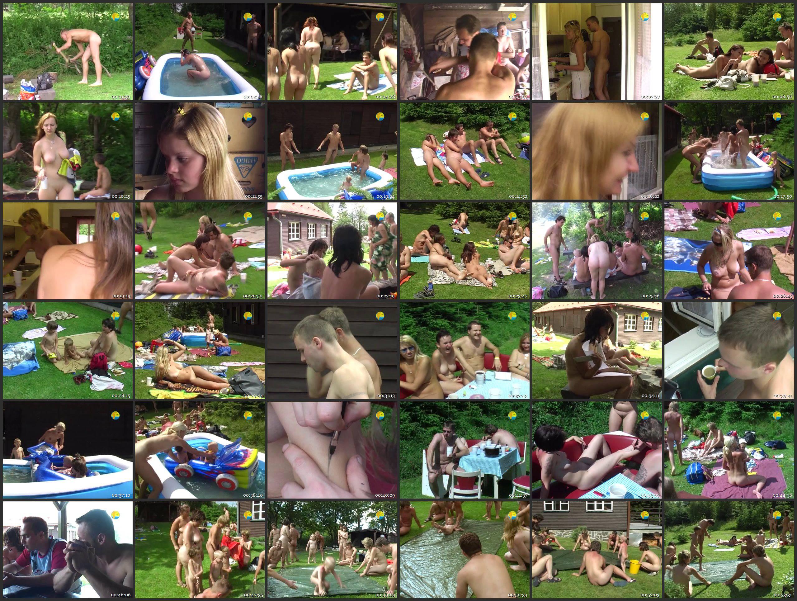 Naturist Freedom Videos-Cottage Picnic - Thumbnails