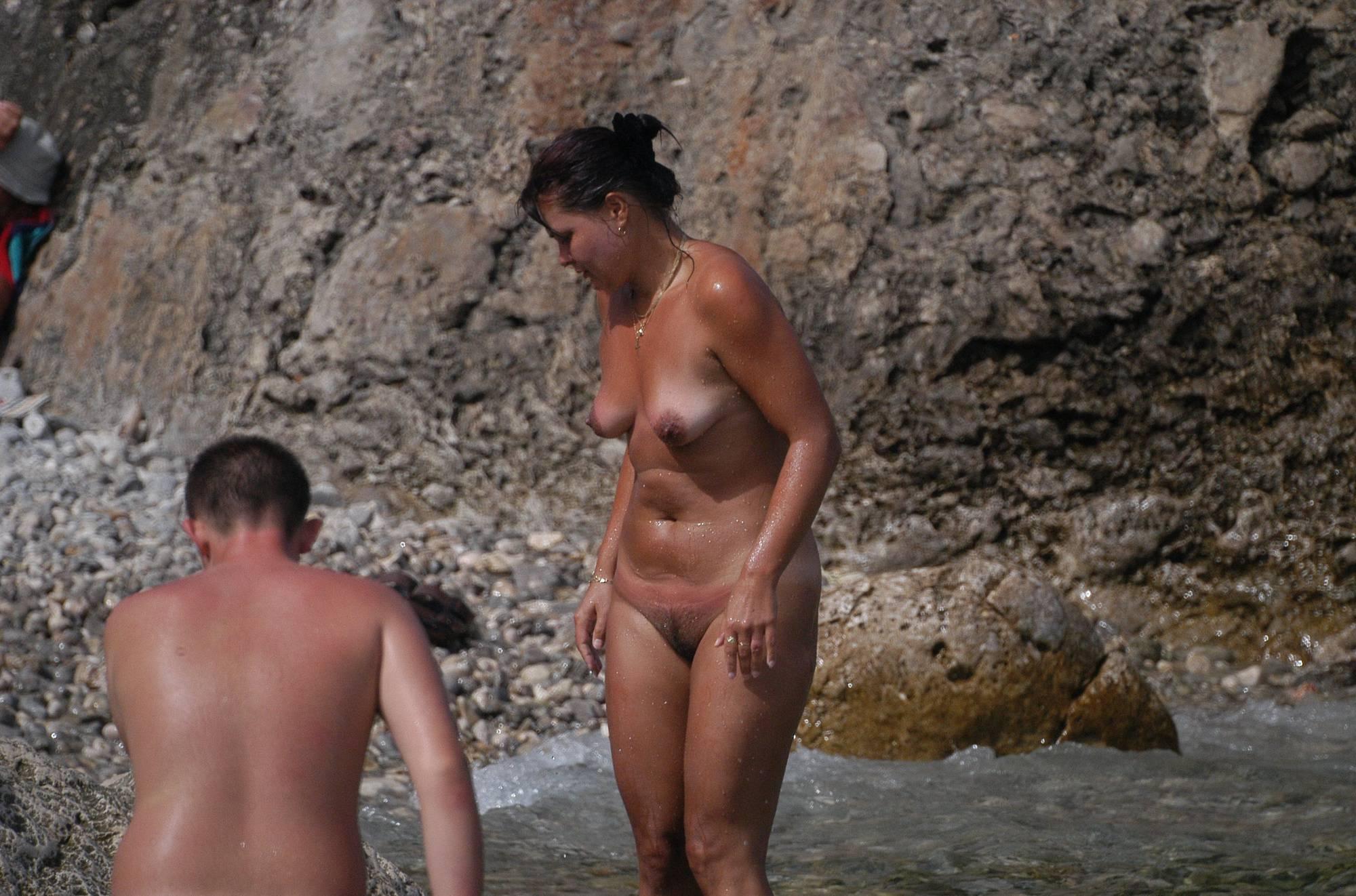 Pure Nudism Photos-Croatian KRK Shore Shots - 3