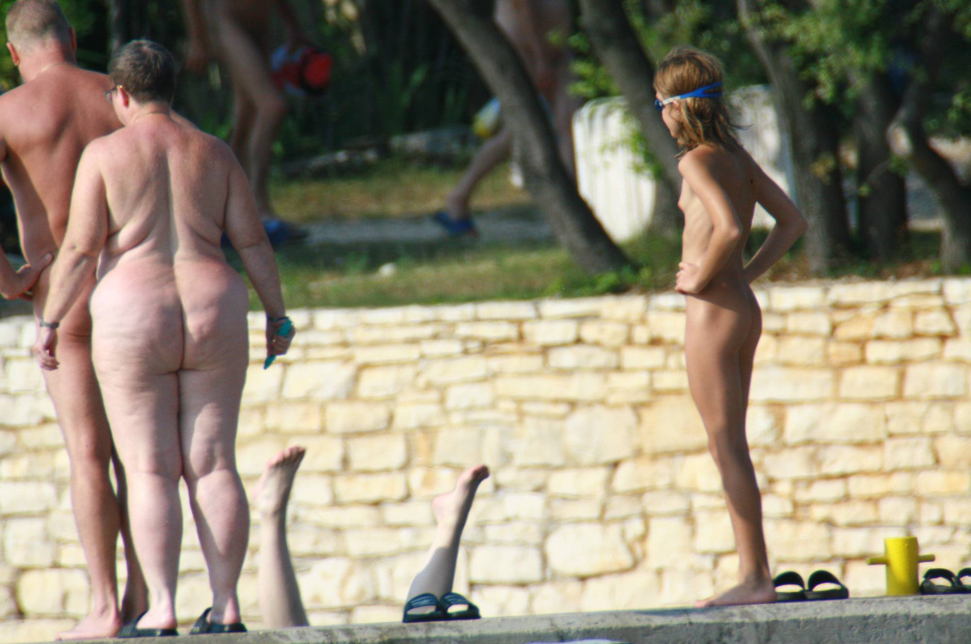 Early Nudist Member Day - 1
