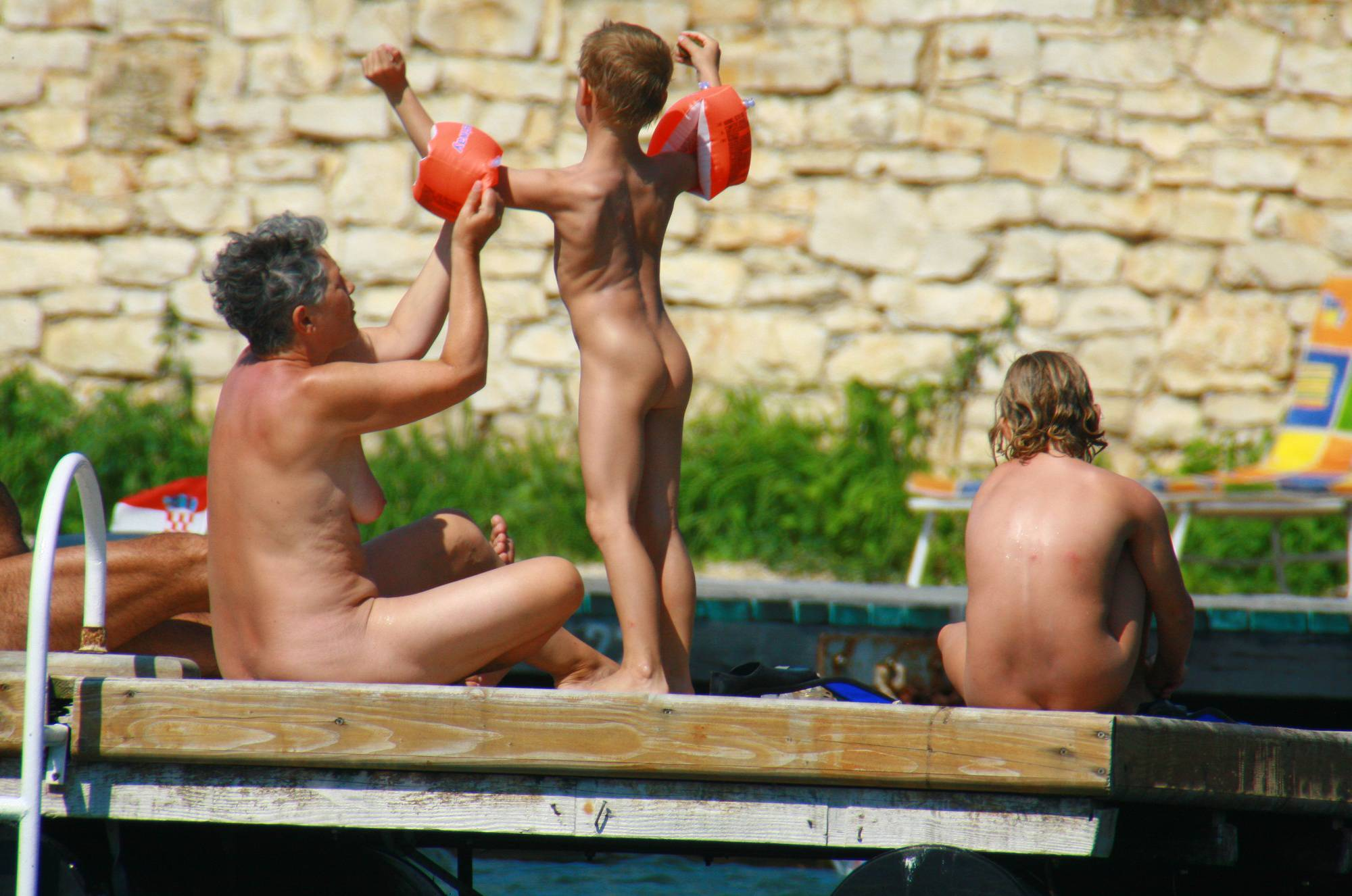 Purenudism Images-Early Nudist Member Day - 2