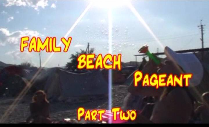 Family Beach Pageant Part Two - Poster