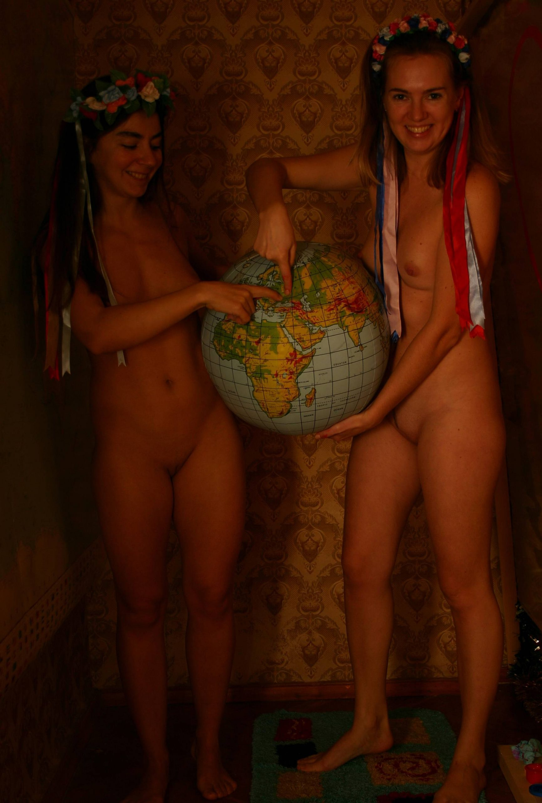 Pure Nudism-Exploring The World Map - 4