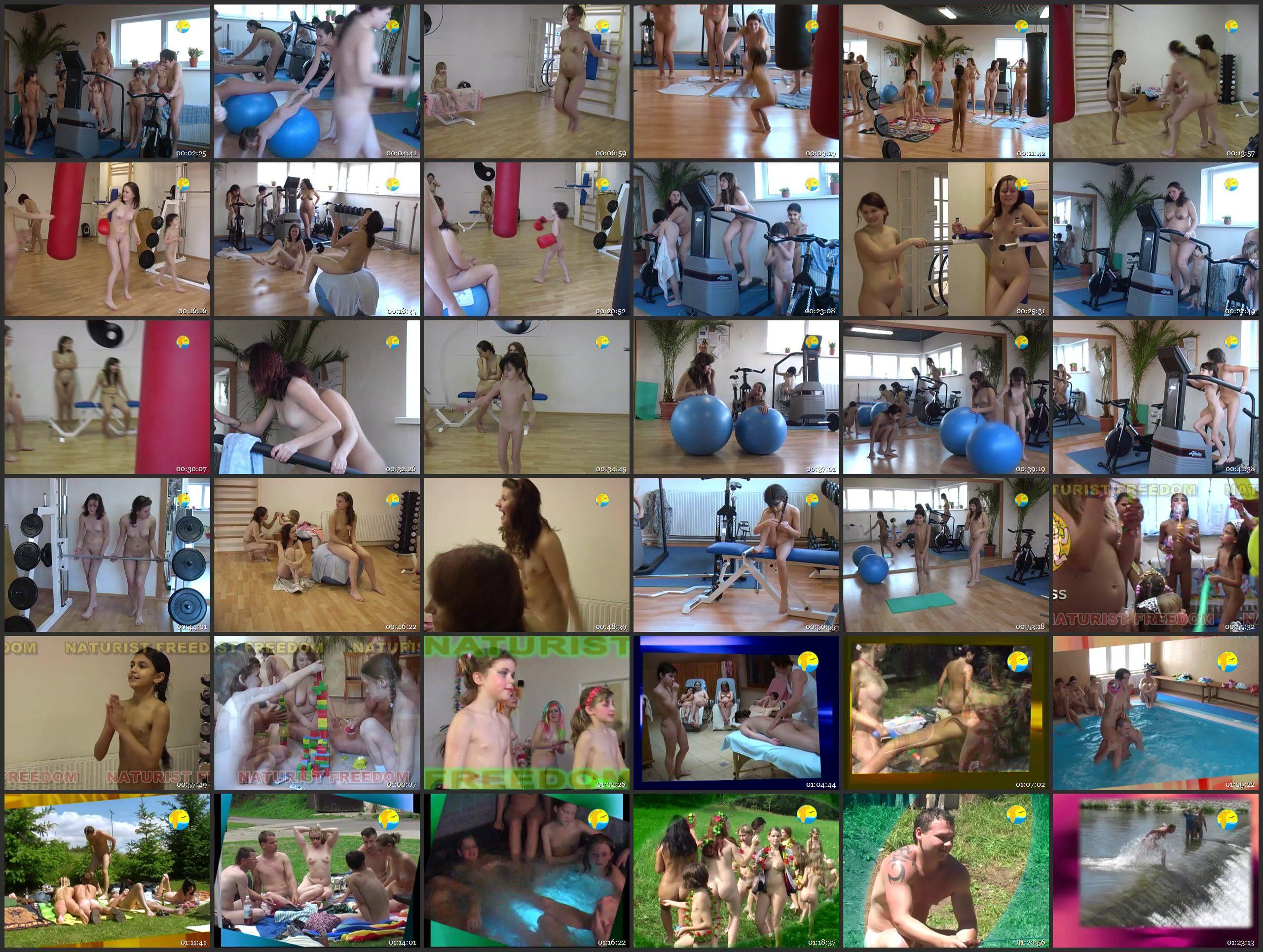 Naturist Freedom-Fitness Girls - Thumbnails