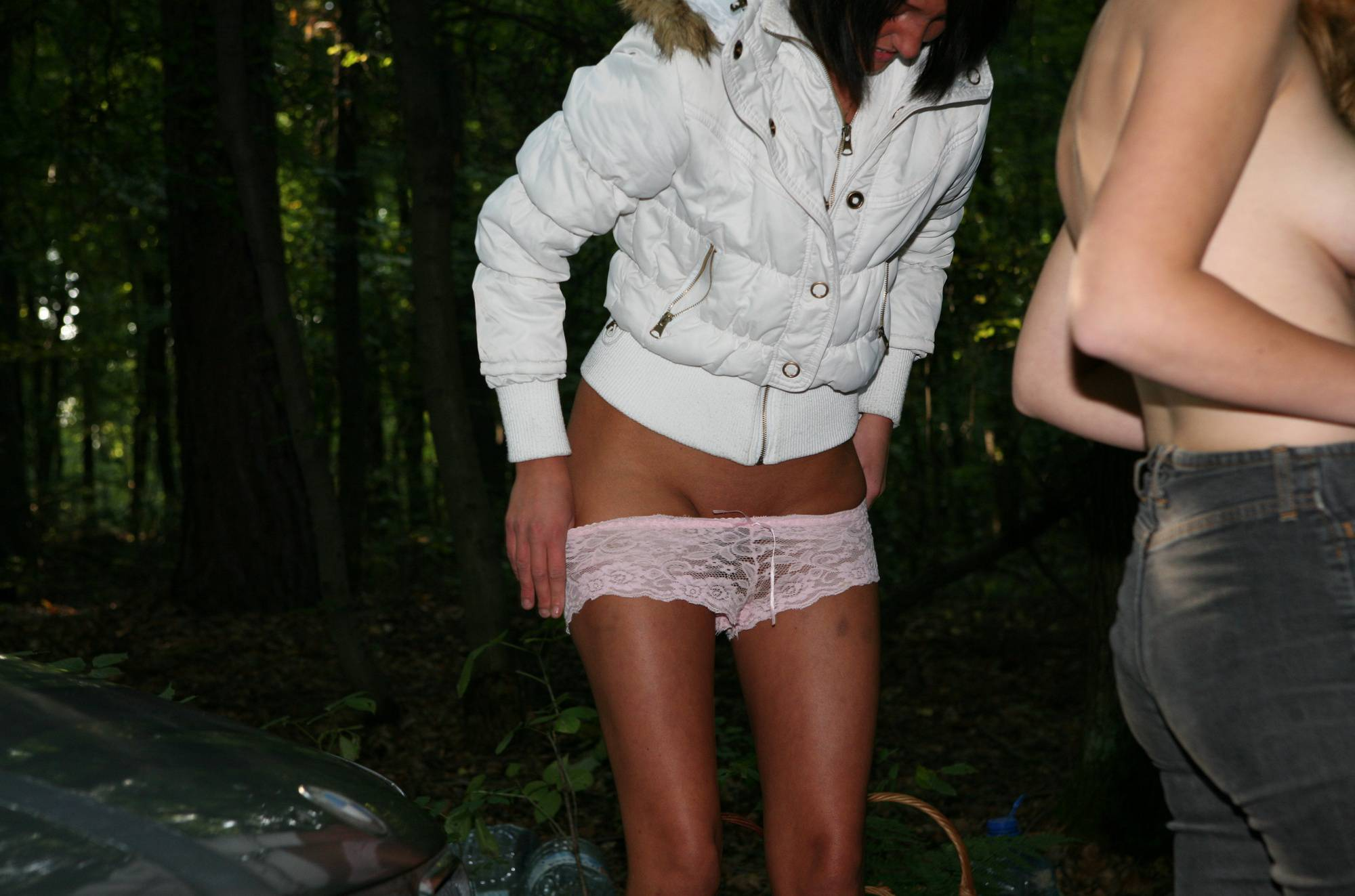 Pure Nudism Images-Forest Girls Dressing Up - 1