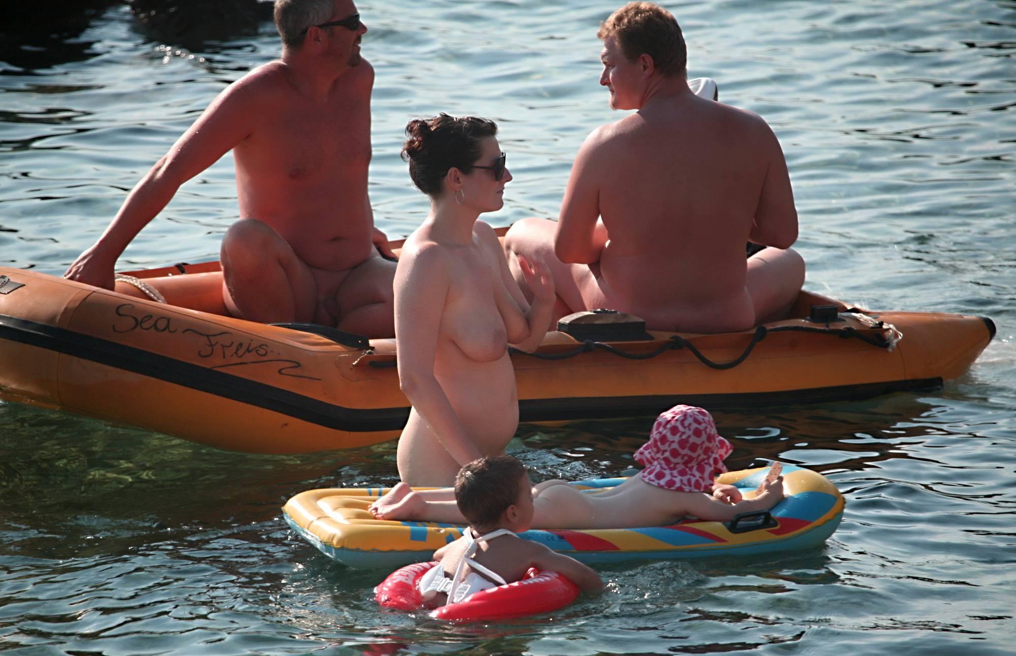 Full Family Nudist Boating - 1
