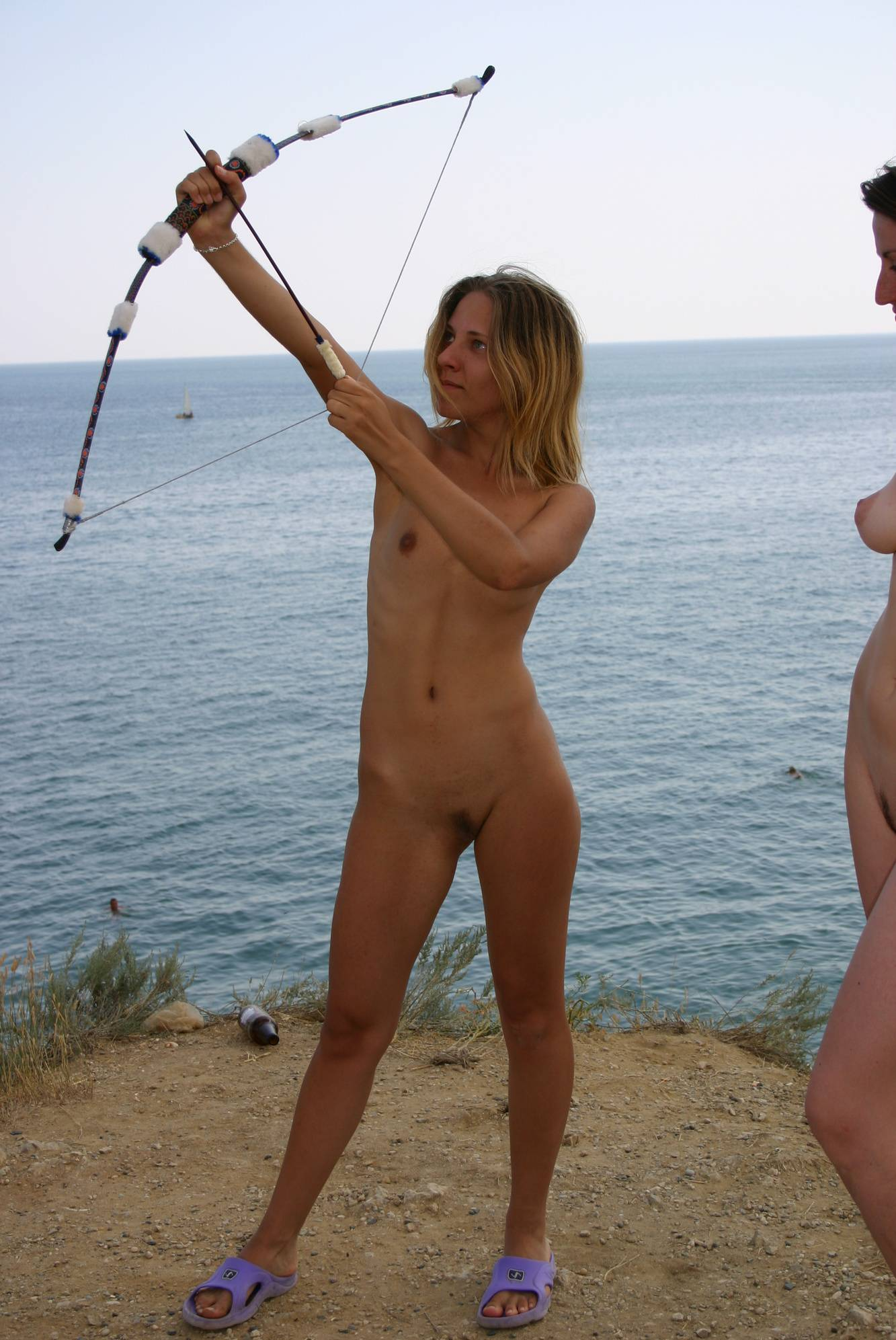 Pure Nudism-Further Nude Bow Games - 2