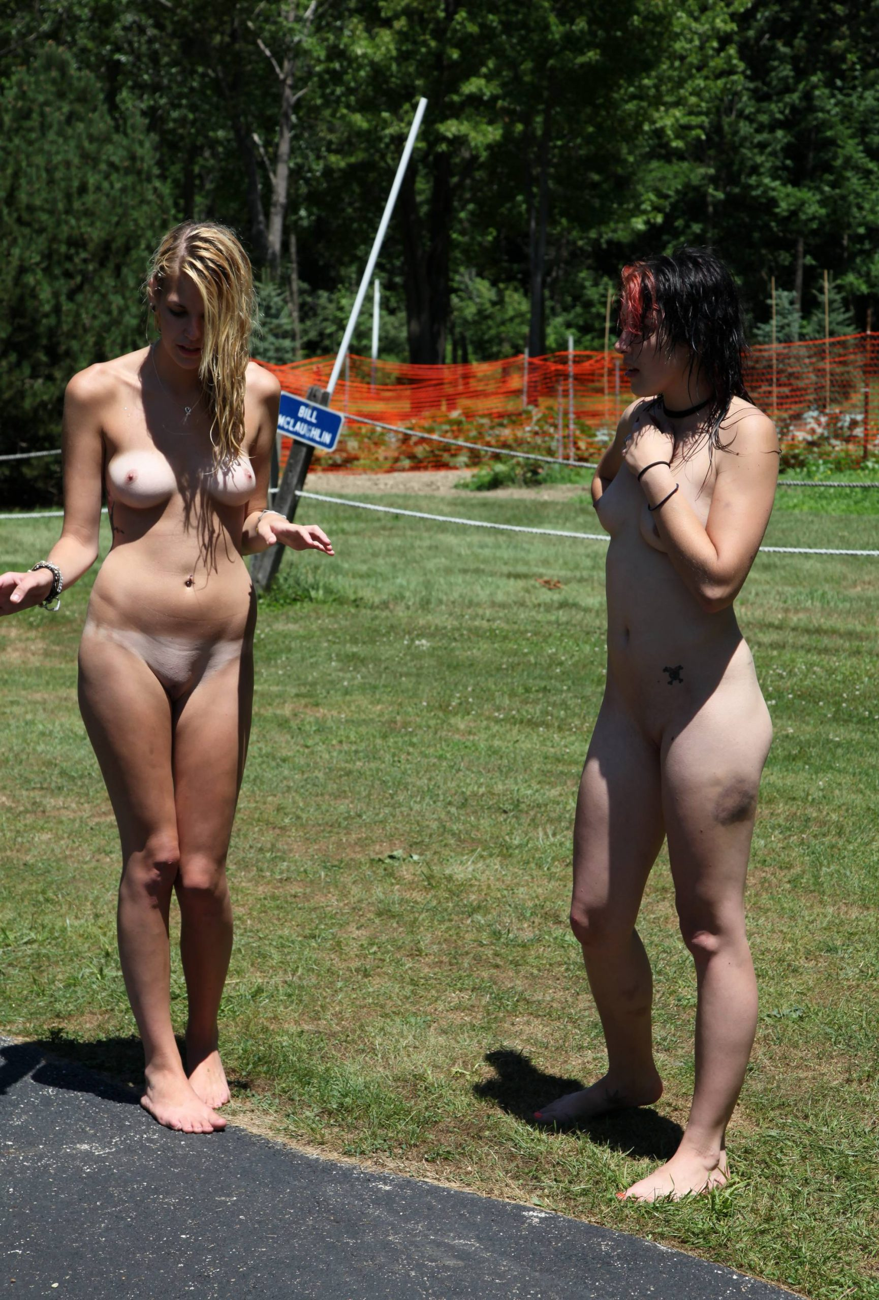 Pure Nudism Images-Grassy Green Delights - 4