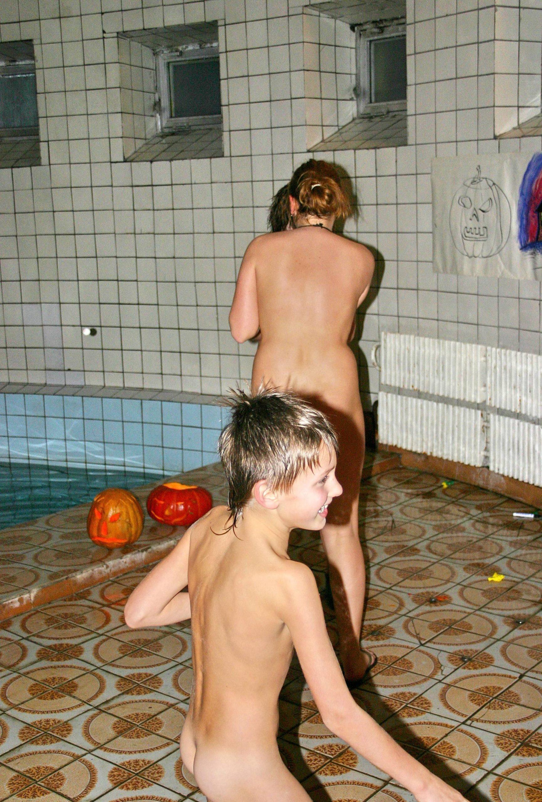Purenudism-Halloween Party Departs - 3