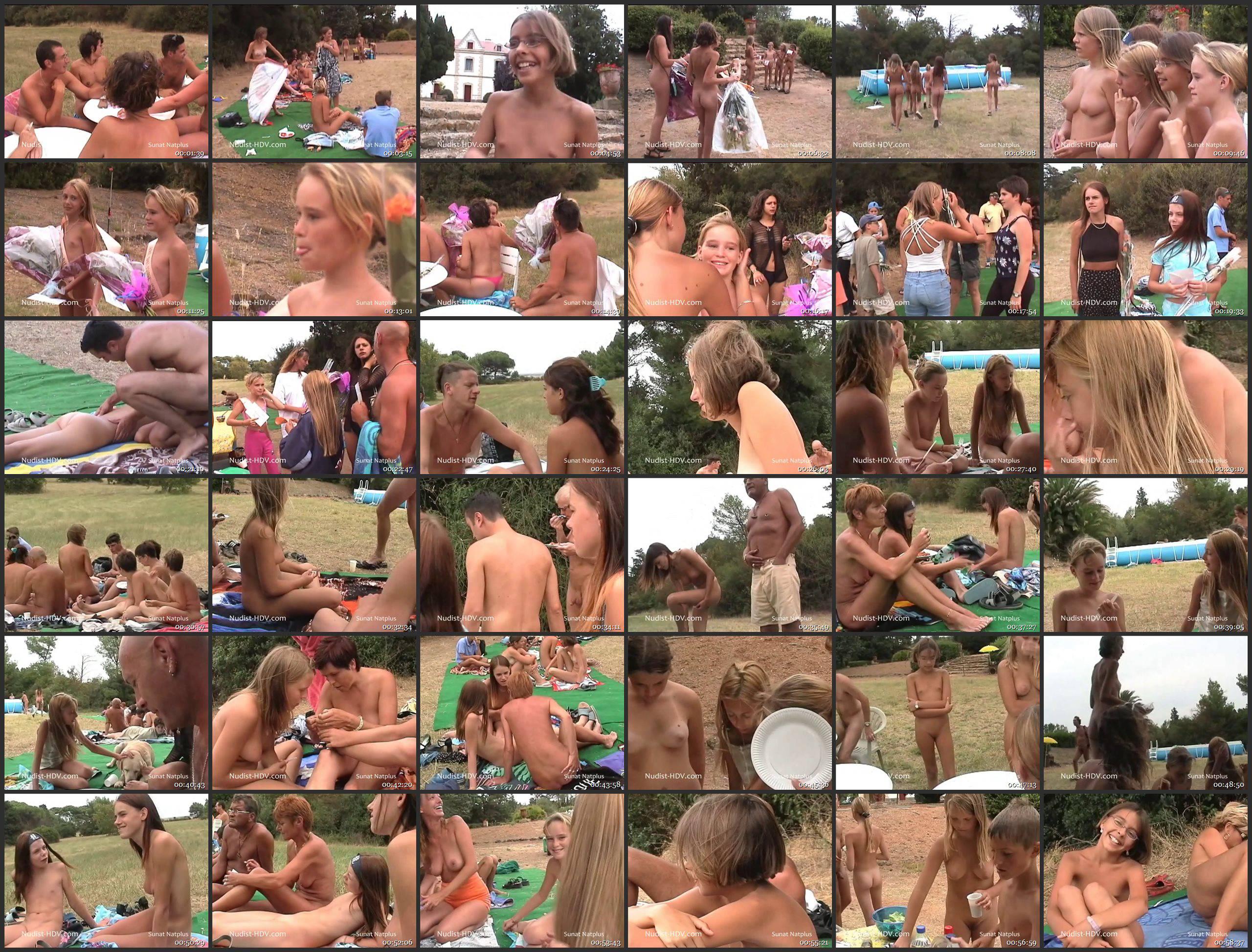 Nudist-HDV-Jr. Teen Beauty Pageant NC12-B - Thumbnails