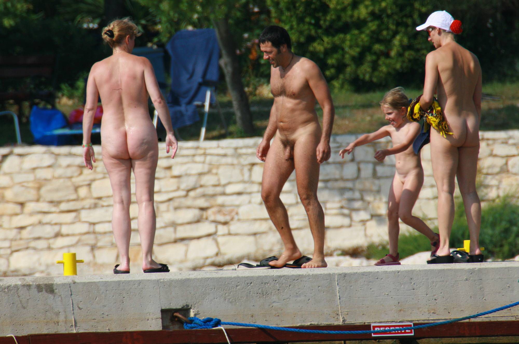 Pure Nudism Pics-Kids Nudist Shore Floater - 3