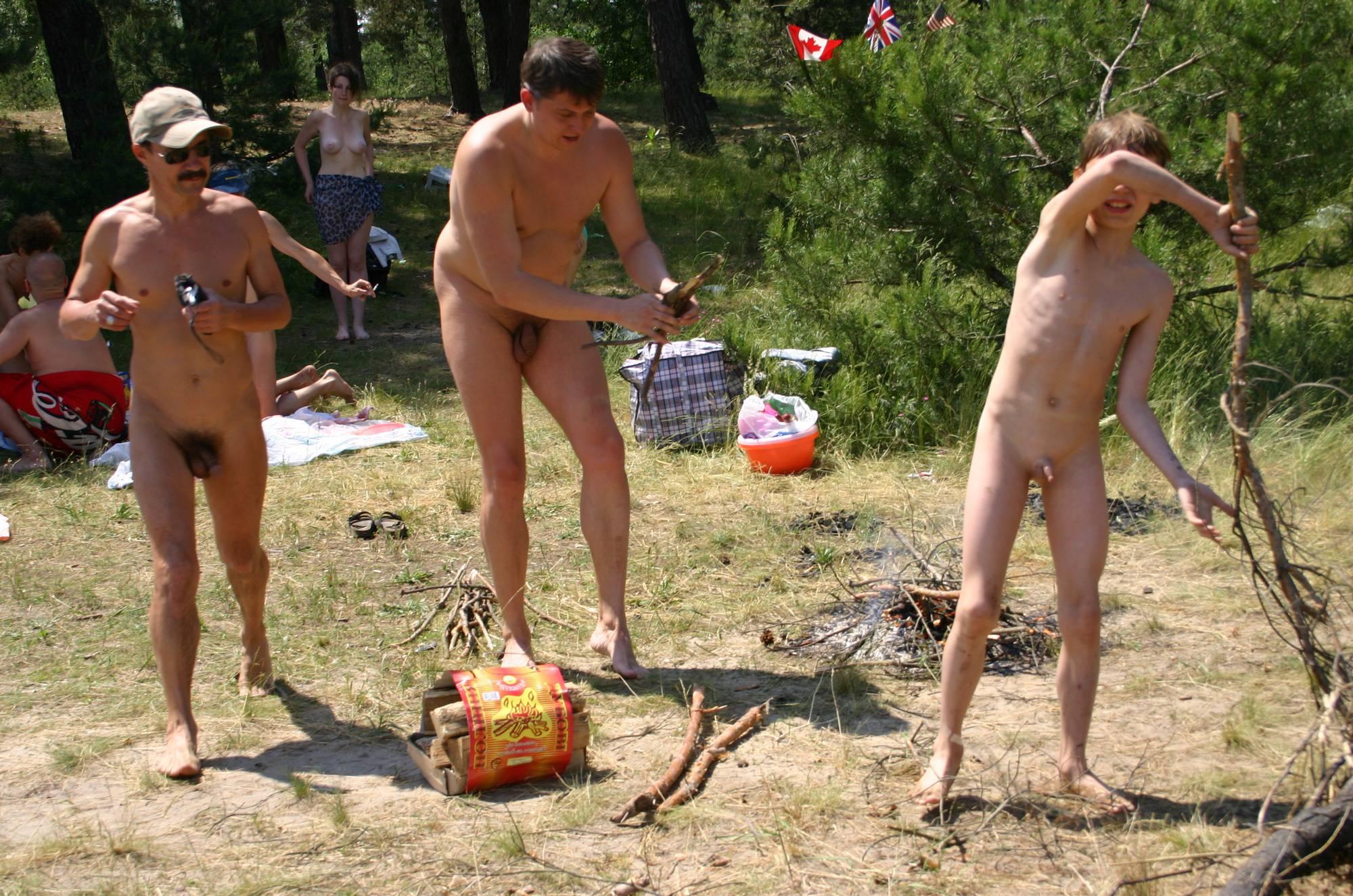 Pure Nudism Photos-Kiev Outdoor Recreation - 1