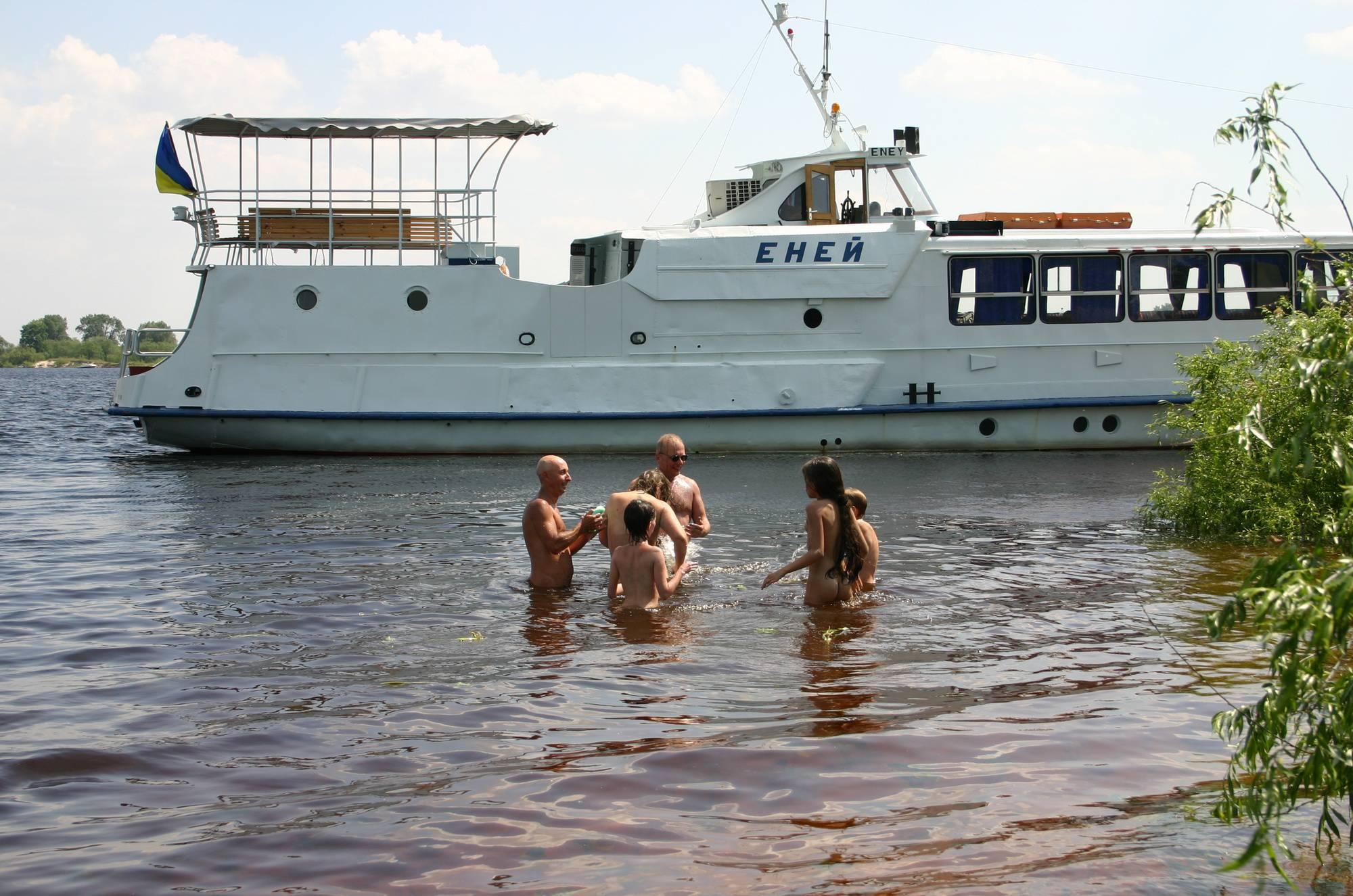 Kiev Water-Front Bathing - 1