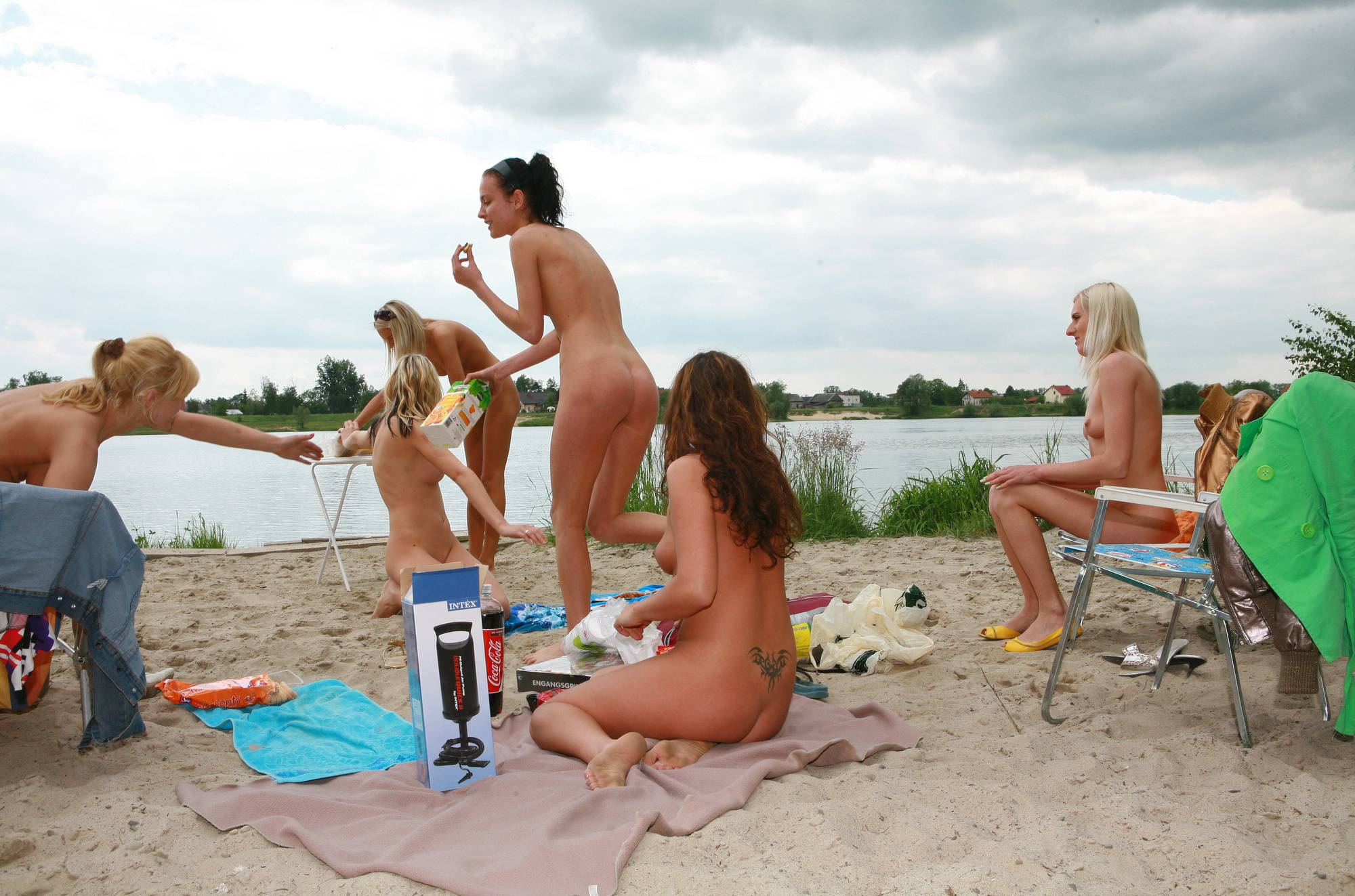 Pure Nudism Gallery-Lakeside Welcome Part - 1