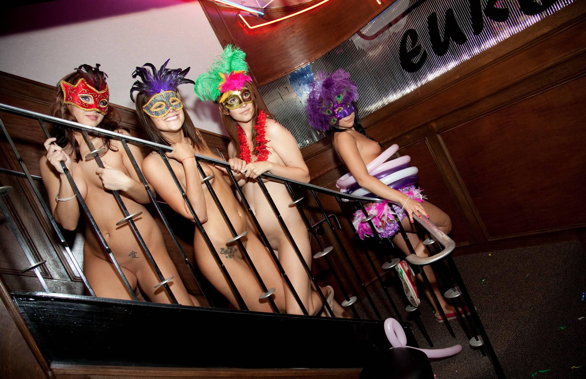Purenudism Gallery-Masquerade Stairs Galore - 4