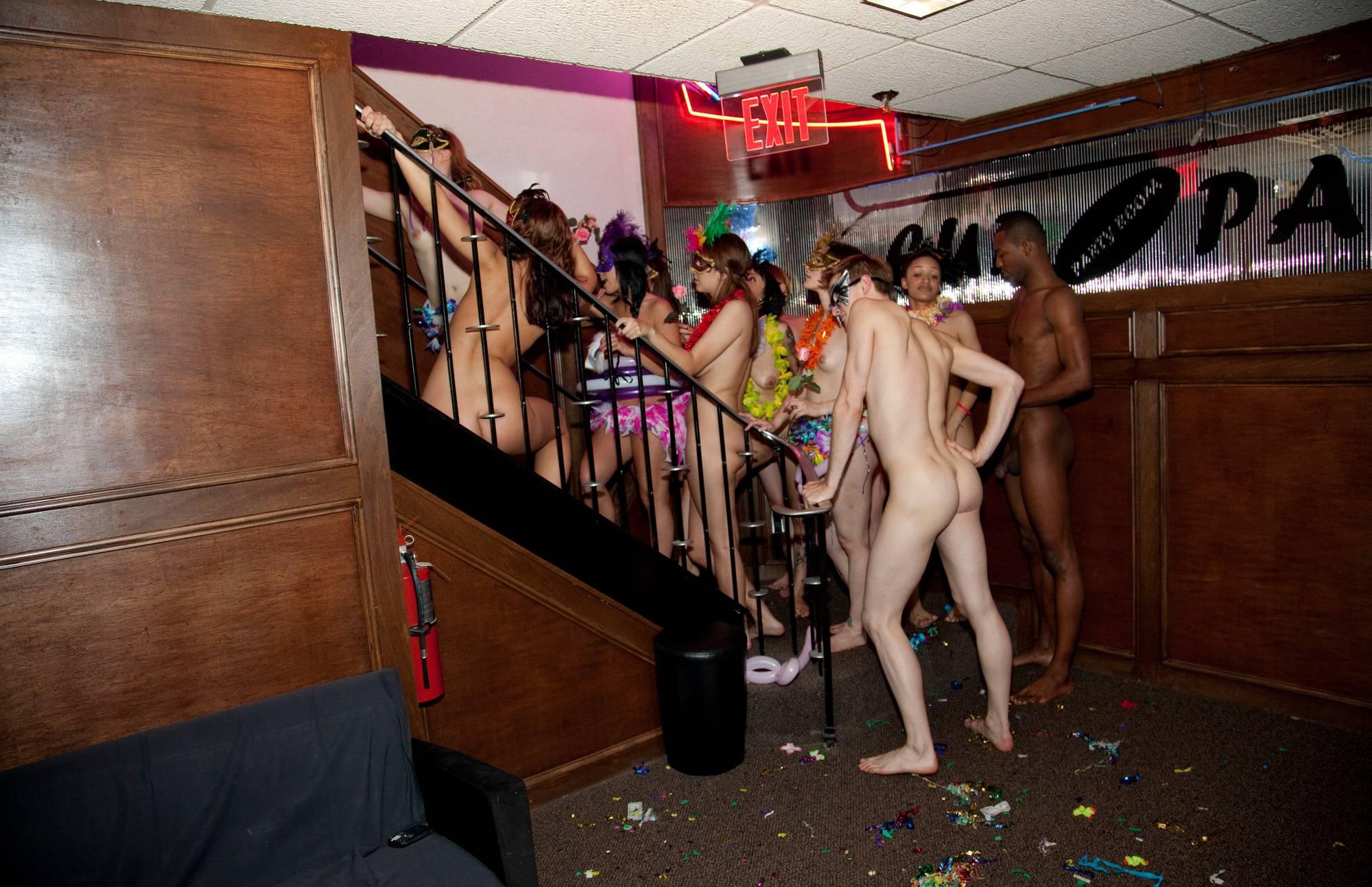 Pure Nudism Photos-Masquerade Stairs Galore - 2