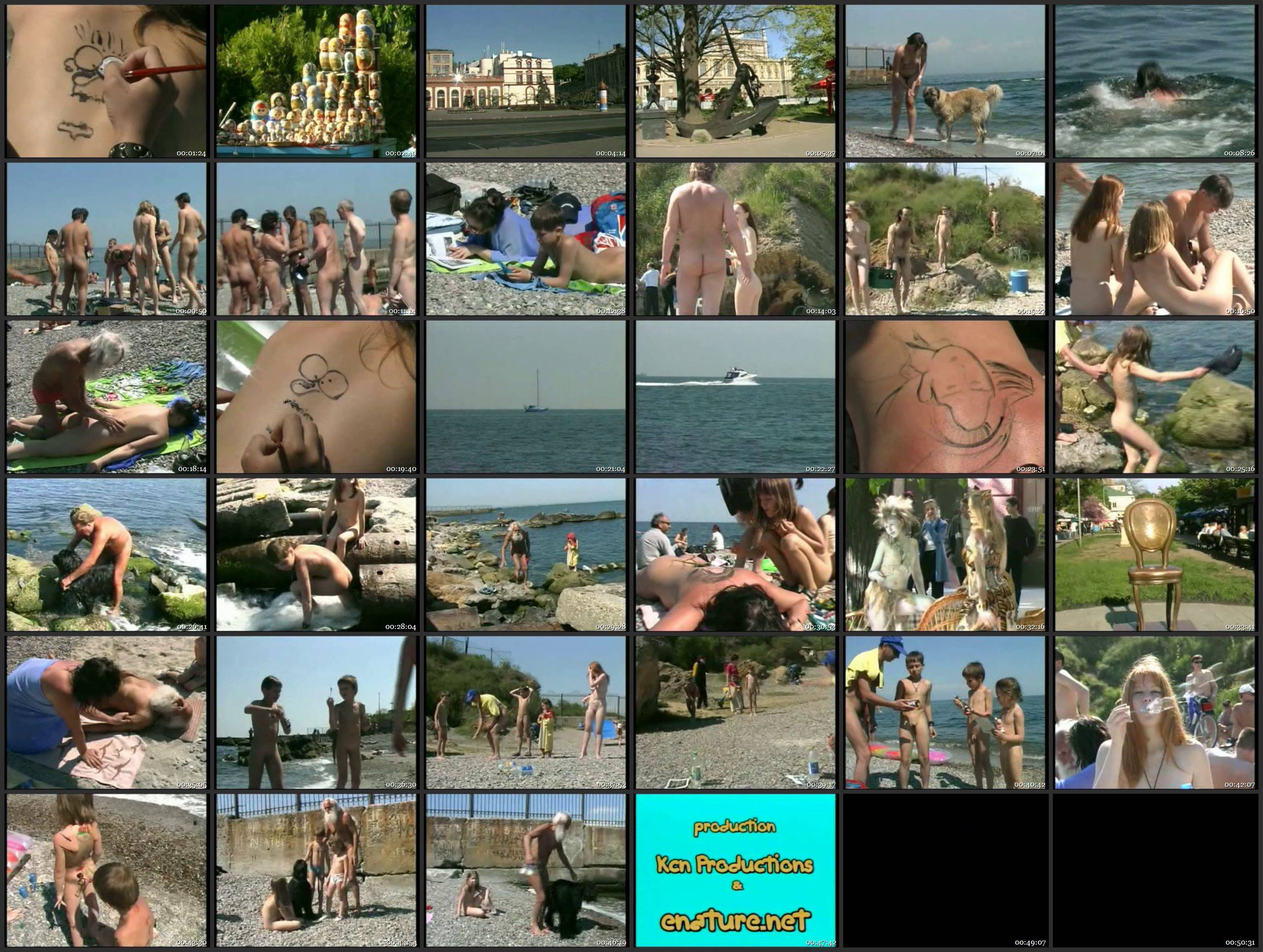 Naked May Day in Odessa - Thumbnails