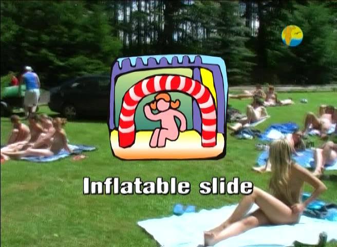 Naturist Freedom Videos-Inflatable Slide - Poster