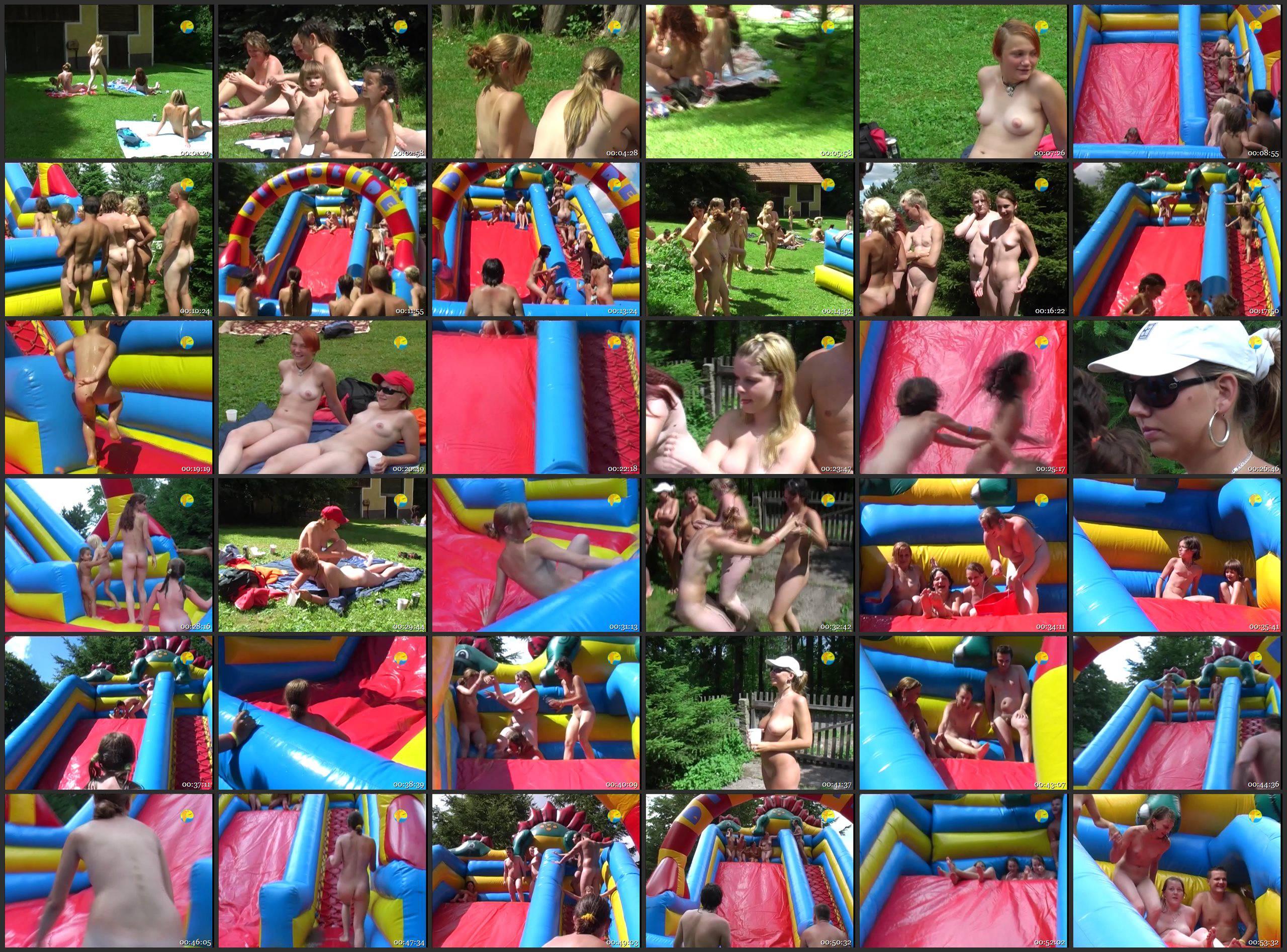 Naturist Freedom-Inflatable Slide - Thumbnails