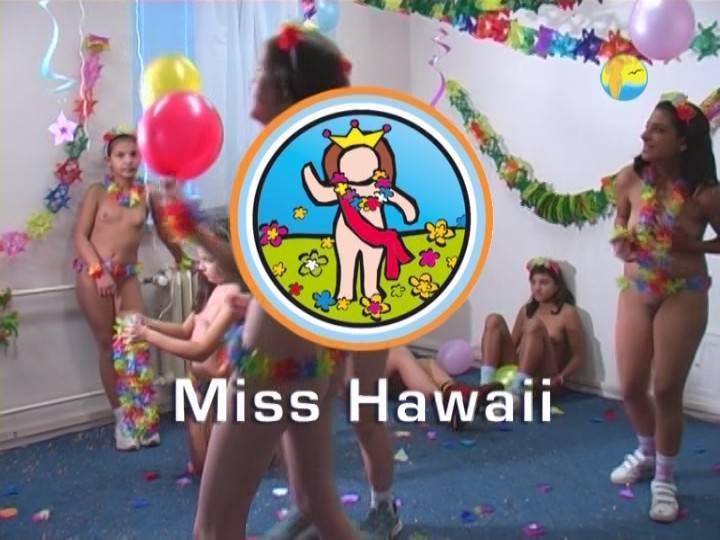 Naturist Freedom Videos-Miss Hawaii - Poster