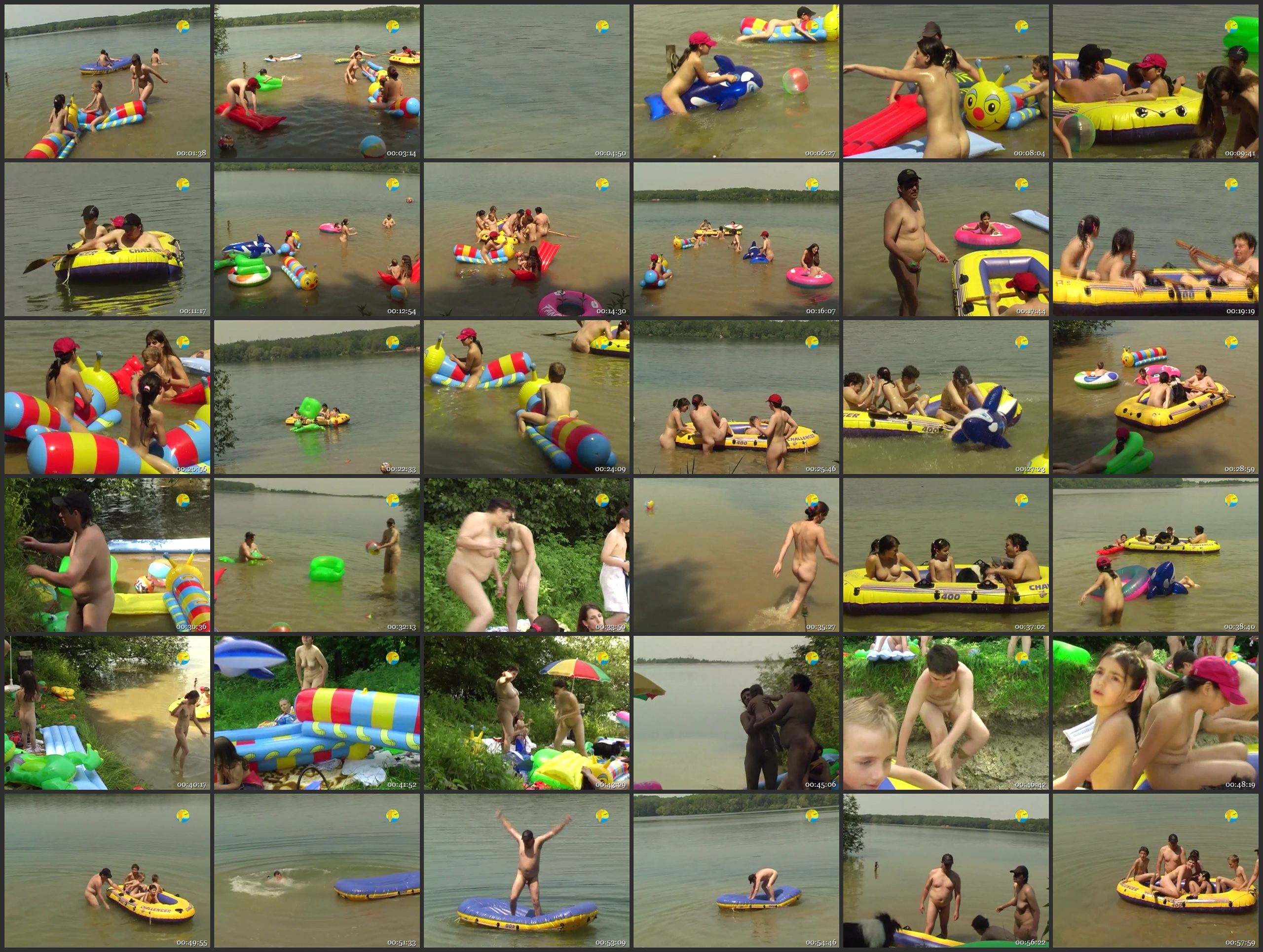 Naturist Freedom Videos-On the Lake - Thumbnails
