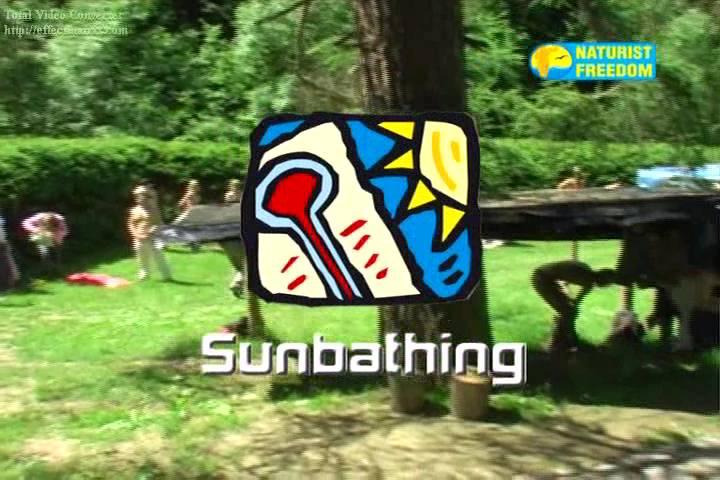 Naturist Freedom-Sunbathing - Poster
