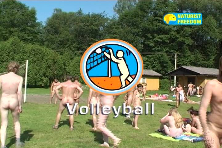 Naturist Freedom-Volleyball - Poster