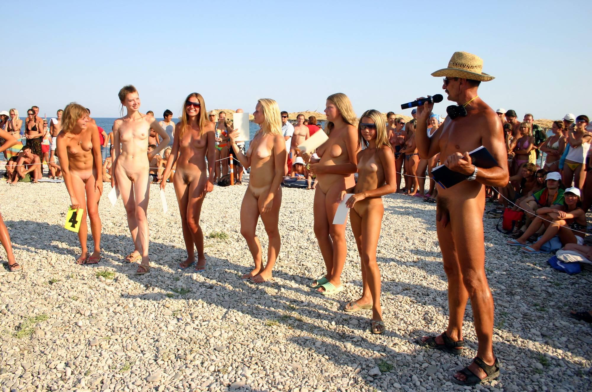 Purenudism Photos-Naturist Girl Line Up Calls - 3