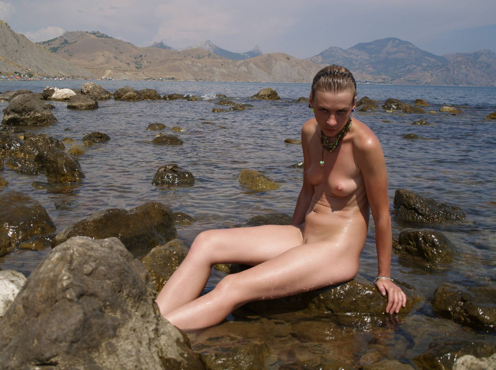 Naturist Model and Daughter - 3