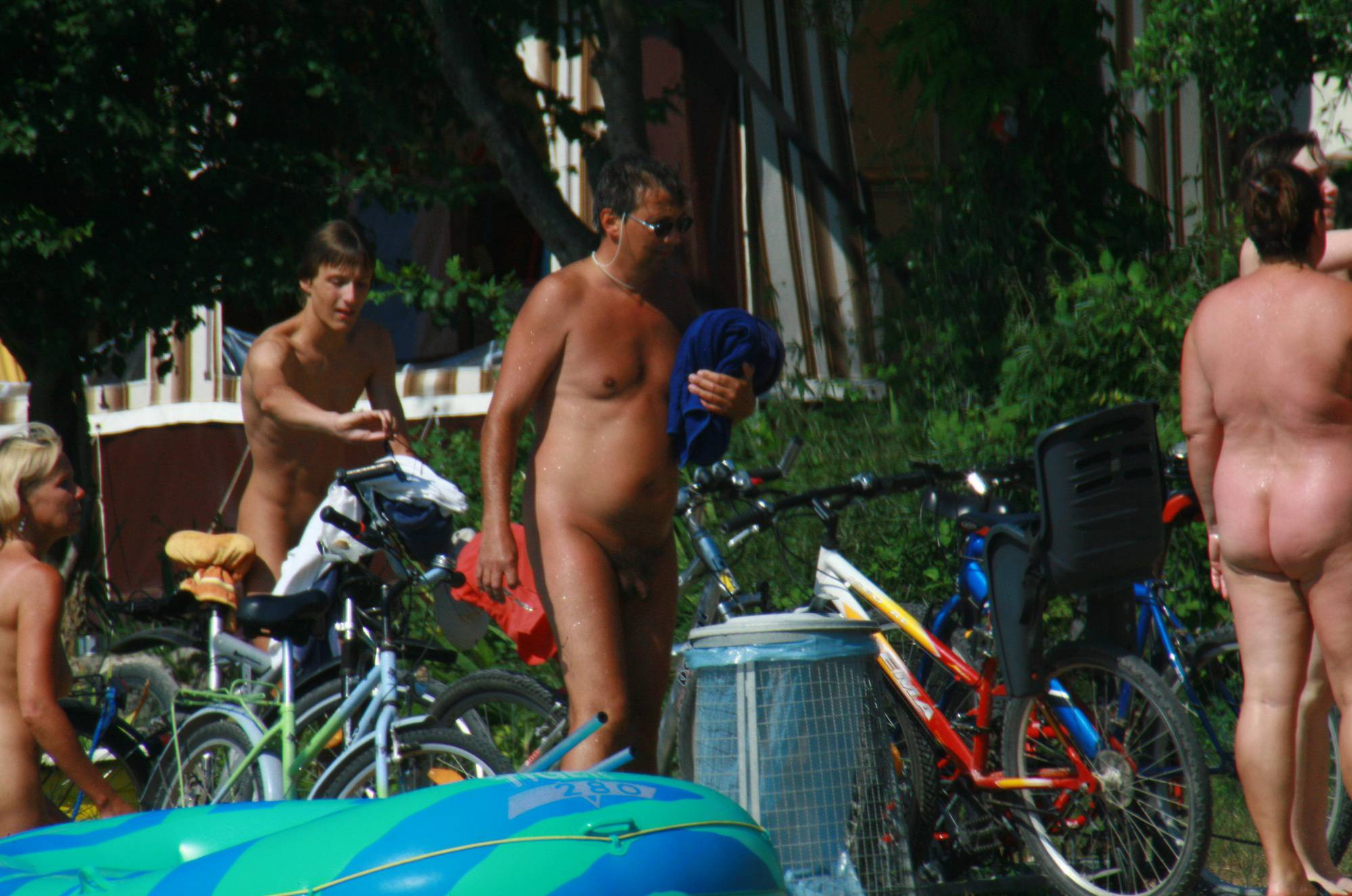 Purenudism Images-Naturist Outdoor Showers - 4