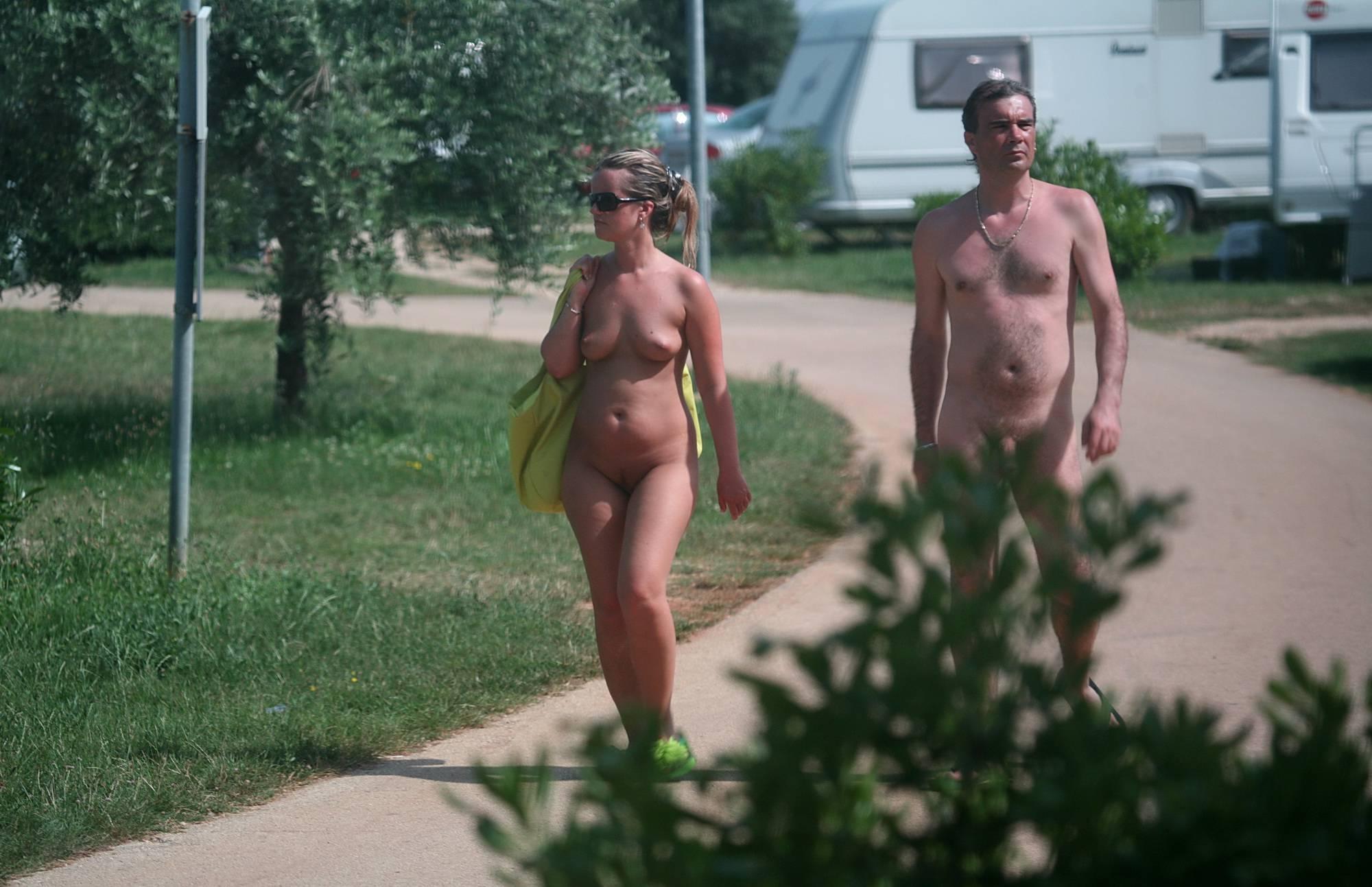 Naturist Sidewalk Stroll - 2